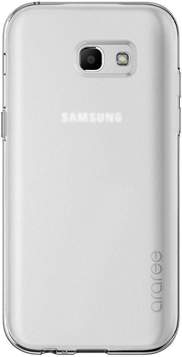 Araree Airfit чехол для Samsung Galaxy A7 (2017), ClearAR20-00206EЧехол-накладка Araree Airfit для Samsung Galaxy A7 (2017) обеспечивает надежную защиту корпуса смартфона от механических повреждений и надолго сохраняет его привлекательный внешний вид. Накладка выполнена из высококачественного материала и плотно прилегает. Чехол также обеспечивает свободный доступ ко всем разъемам и клавишам устройства.