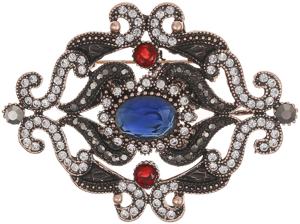 Брошь-кулон Франческа в византийском стиле от Arrina. Разноцветные кристаллы, прозрачные стразы, бижутерный сплав старое золото. ГонконгБрошь-кулонБрошь-кулон Франческа в византийском стиле от Arrina.Разноцветные кристаллы, прозрачные стразы, бижутерный сплав старое золото. Гонконг.Размер: 6,5 х 5 см. Тип крепления - булавка с застежкой.Имеется петелька для цепочки.