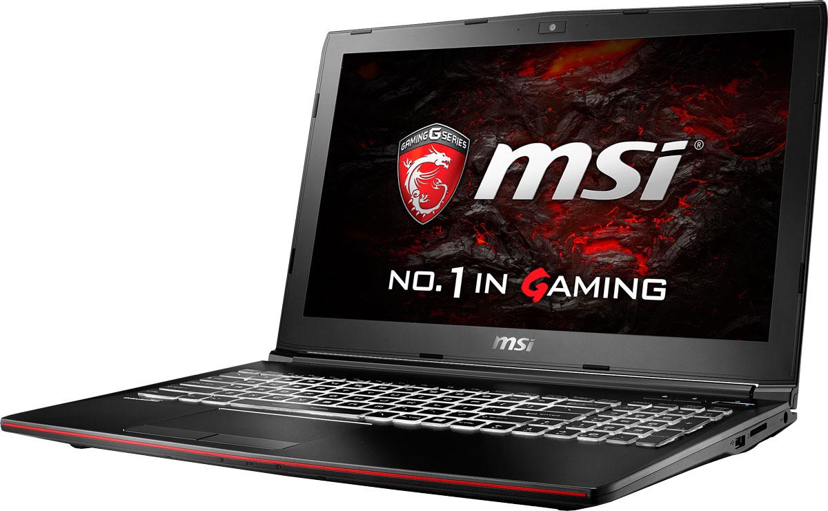 MSI GP62M 7RD-661RU Leopard, BlackGP62M 7RD-661RUMSI GP62M 7RD Leopard - это мощный ноутбук, который адаптирован для современных игровых приложений. Стильный шлифованный алюминиевый корпус прекрасно подчёркивает эстетику и мощь этой игровой машины.Седьмое поколение процессоров Intel Core серии H обрело более энергоэффективную архитектуру, продвинутые технологии обработки данных и оптимизированную схемотехнику. Производительность Core i7-7700HQ по сравнению с i7-6700HQ выросла в среднем на 8%, мультимедийная производительность - на 10%, а скорость декодирования/кодирования 4K-видео - на 15%. Аппаратное ускорение 10-битных кодеков VP9 и HEVC стало менее энергозатратным, благодаря чему эффективность воспроизведения видео 4K HDR значительно возросла.Вы сможете достичь максимально возможной производительности вашего ноутбука благодаря поддержке оперативной памяти DDR4-2400, отличающейся скоростью чтения более 32 Гбайт/с и скоростью записи 36 Гбайт/с. Возросшая на 40% производительность стандарта DDR4-2400 (по сравнению с предыдущим поколением, DDR3-1600) поднимет ваши впечатления от современных и будущих игровых шедевров на совершенно новый уровень.Эксклюзивная технология MSI SHIFT выводит систему на экстремальные режимы работы, одновременно снижая шум и температуру до минимально возможного уровня. Переключаясь между пятью профилями, вы сможете достичь экстремальной производительности своей машины или увеличить время её работы от батарей. Функция легко активируется либо горячими клавишами FN + F7, либо через приложение Dragon Gaming Center.Эксклюзивная технология MSI Cooler Boost 4 заключается в установке под капот вашего мощного ноутбука двух охлаждающих модулей и их объединения с двумя отдельными теплоотводами - для GPU и CPU. Одно нажатие кнопки запуска системы охлаждения на полную мощь, и шесть теплопроводных трубок в сочетании с двумя вентиляторами активно выведут генерируемое системой тепло наружу.Режим SuperSpeed поддерживает скорость передачи данных до 5 Гбит/с, 