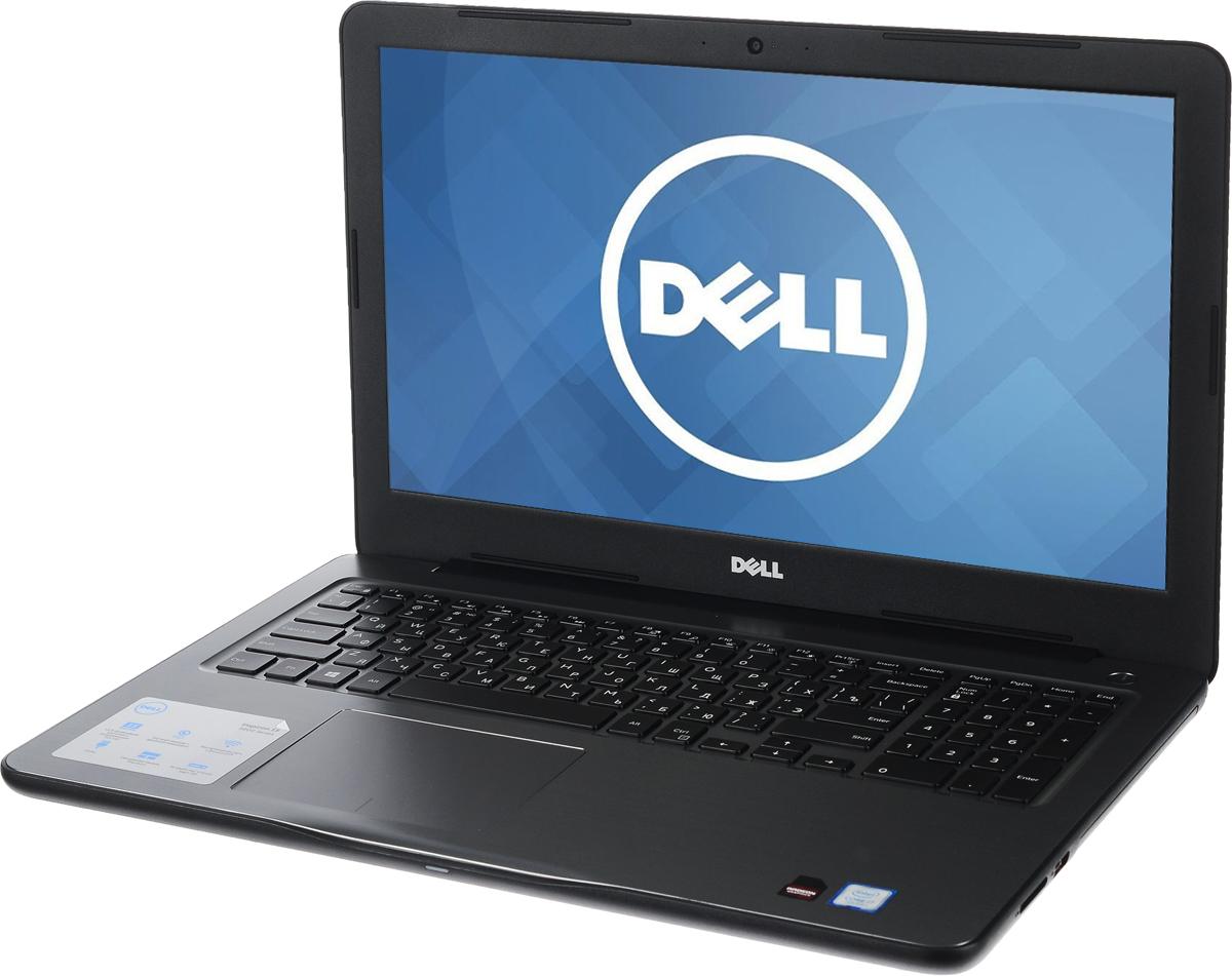 Dell Inspiron 5567, Black (5567-0590)5567-0590Производительные процессоры седьмого поколения Intel Core i5, стильный дизайн и цвета на любой вкус - ноутбук Dell Inspiron 5567 - это идеальный мобильный помощник в любом месте и в любое время. Безупречное сочетание современных технологий и неповторимого стиля подарит новые яркие впечатления.Сделайте Dell Inspiron 5567 своим узлом связи. Поддерживать связь с друзьями и родственниками никогда не было так просто благодаря надежному WiFi-соединению и Bluetooth, встроенной HD веб-камере высокой четкости, ПО Skype и 15,6-дюймовому экрану, позволяющему почувствовать себя лицом к лицу с близкими.15,6-дюймовый экран с разрешением Full HD ноутбука Dell Inspiron оживляет происходящее на экране, где бы вы ни были. Вы можете еще более усилить впечатление, подключив телевизор или монитор с поддержкой HDMI через соответствующий порт. Возможно, вам больше не захочется покупать билеты в кино.Выделенный графический адаптер AMD RadeonR7 M445 позволяет выполнять ресурсоемкие процедуры редактирования фотографий и видеороликов без снижения производительности.Смотрите фильмы с DVD-дисков, записывайте компакт-диски или быстро загружайте системное программное обеспечение и приложения на свой компьютер с помощью внутреннего дисковода оптических дисков.Точные характеристики зависят от модели.Ноутбук сертифицирован EAC и имеет русифицированную клавиатуру и Руководство пользователя.