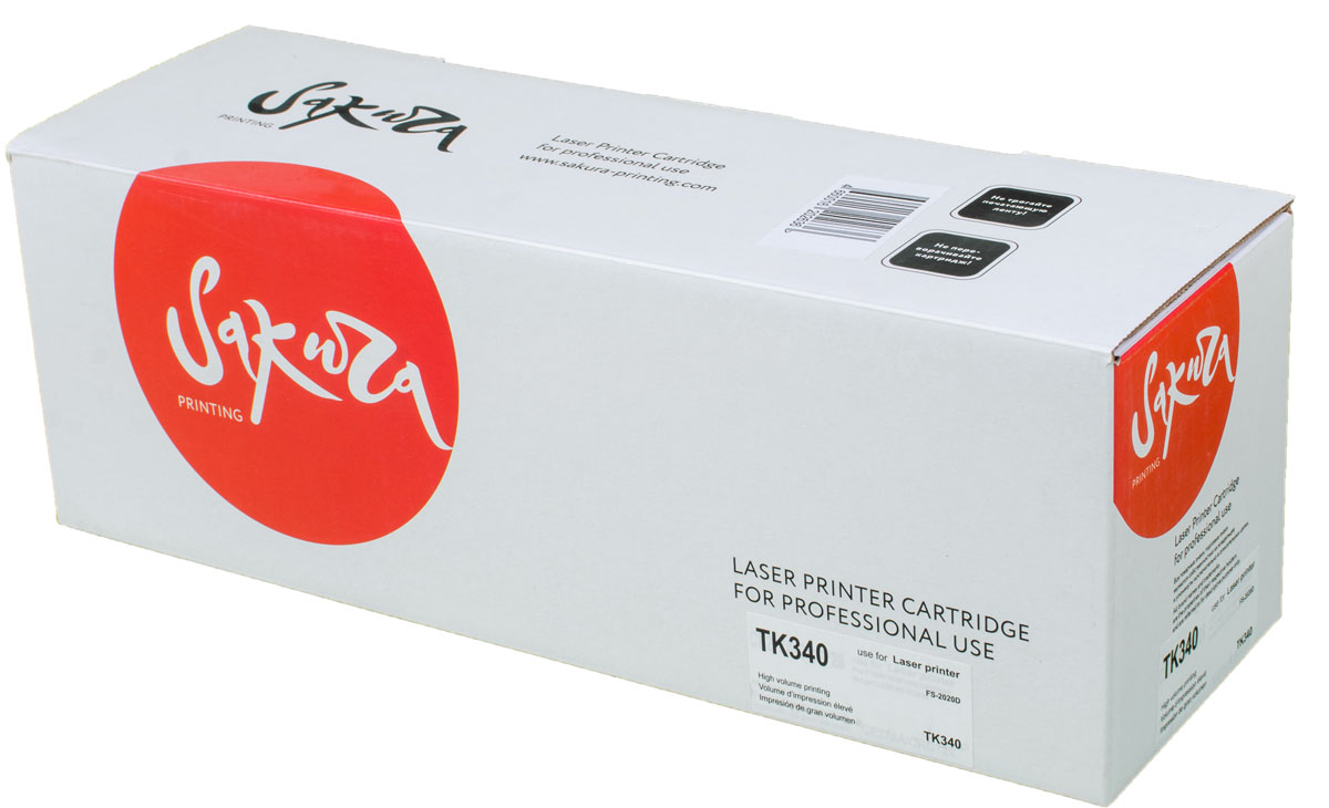 Sakura TK340, Black тонер-картридж для Kyocera FS-2020D