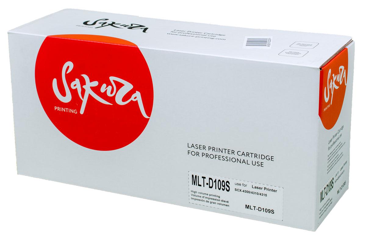 Sakura MLT-D109S, Black тонер-картридж для Samsung SCX4300/4310/4315SAMLTD109SТонер-картридж Sakura MLT-D109S для лазерных принтеров Samsung SCX-4300/4310/4315 является альтернативным решением для замены оригинальных картриджей. Он печатает с тем же качеством и имеет тот же ресурс, что и оригинальный картридж. В картриджах компании Sakura используется химический синтезированный тонер, который в отличие от дешевого тонера из перемолотого полимера, не царапает, а смазывает печатающий вал, что приводит к возможности многократных перезаправок картриджей. Такой подход гарантирует долгий срок службы принтера, превосходное качество и стабильность печати.Тонер-картриджи Sakura производятся при строгом соответствии стандартам ISO 9001 и ISO 14001, что подтверждено международными сертификатами.