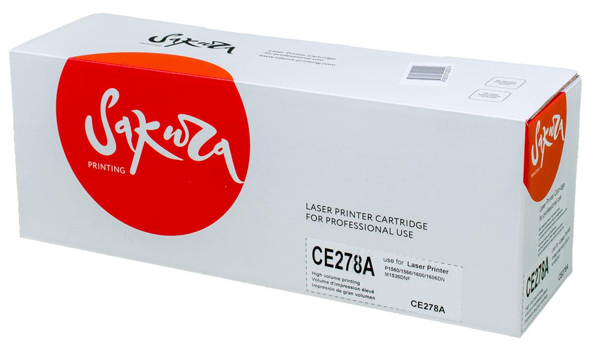 Sakura CE278A, Black тонер-картридж для HP laser Pro P1560/1636/1566/1600/1606SACE278AТонер-картридж Sakura CE278A для лазерных принтеров HP laser Pro P1560/1636/1566/1600/1606 является альтернативным решением для замены оригинальных картриджей. Он печатает с тем же качеством и имеет тот же ресурс, что и оригинальный картридж. В картриджах компании Sakura используется химический синтезированный тонер, который в отличие от дешевого тонера из перемолотого полимера, не царапает, а смазывает печатающий вал, что приводит к возможности многократных перезаправок картриджей. Такой подход гарантирует долгий срок службы принтера, превосходное качество и стабильность печати.Тонер-картриджи Sakura производятся при строгом соответствии стандартам ISO 9001 и ISO 14001, что подтверждено международными сертификатами.