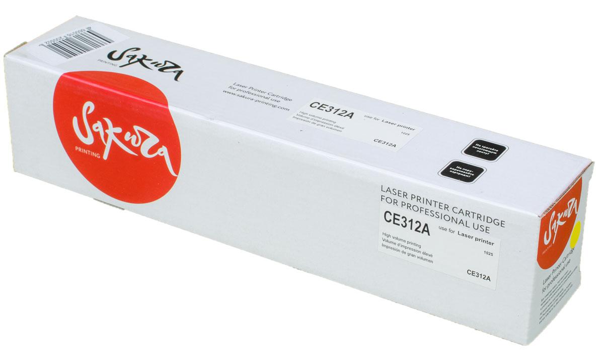 Sakura CE312A, Yellow тонер-картридж для HP LaserJet Pro CP1025/CP1025NWSACE312AТонер-картридж Sakura CE312A для лазерных принтеров HP LaserJet Pro CP1025/CP1025NW является альтернативным решением для замены оригинальных картриджей. Он печатает с тем же качеством и имеет тот же ресурс, что и оригинальный картридж. В картриджах компании Sakura используется химический синтезированный тонер, который в отличие от дешевого тонера из перемолотого полимера, не царапает, а смазывает печатающий вал, что приводит к возможности многократных перезаправок картриджей. Такой подход гарантирует долгий срок службы принтера, превосходное качество и стабильность печати.Тонер-картриджи Sakura производятся при строгом соответствии стандартам ISO 9001 и ISO 14001, что подтверждено международными сертификатами.