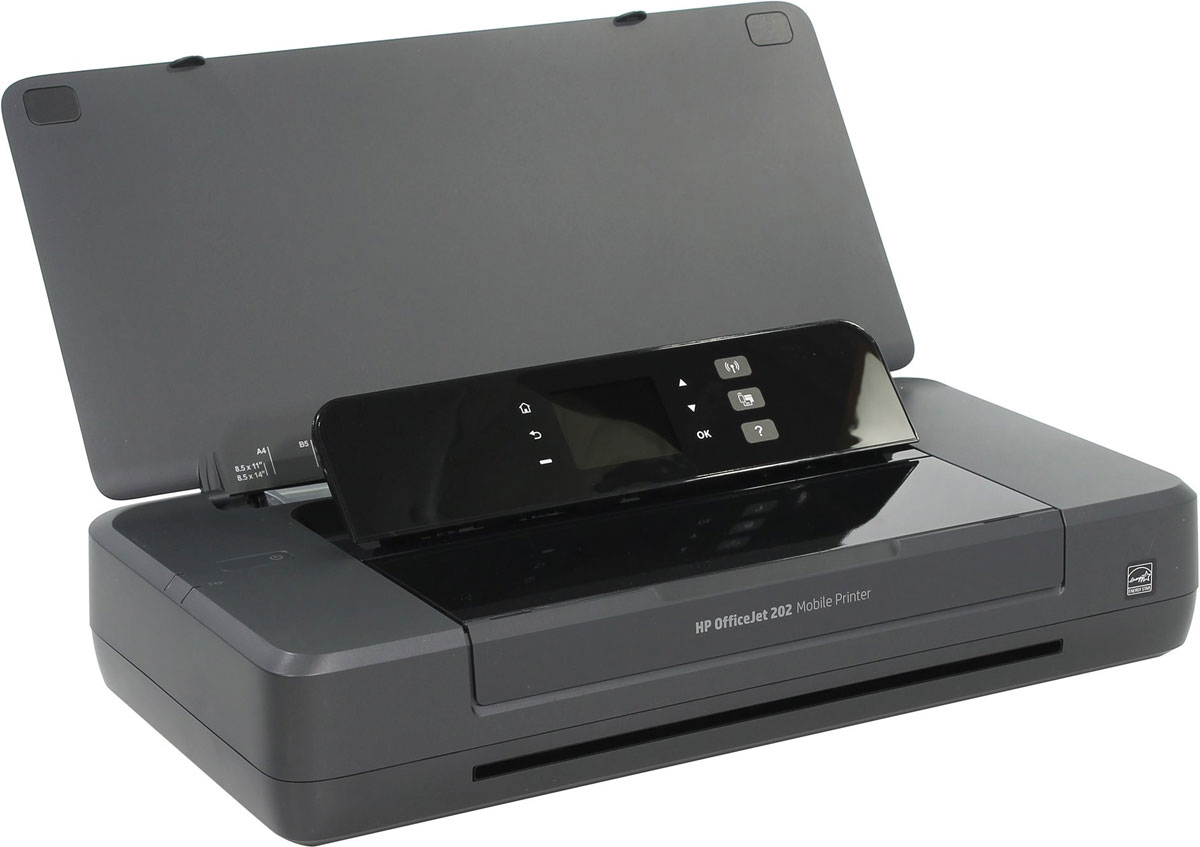 HP Officejet 202 (N4K99C) мобильный принтерN4K99CБлагодаря производительному и портативному принтеру HP Officejet 202, вы сможете работать в любом уголке мира, наличия сети для этого не требуется. Устройство работает быстро и практически бесшумно, оно не требует частой зарядки и позволяет печатать больше страниц на каждый картридж.Отправлять материалы на печать можно напрямую с ноутбука или мобильных устройств, установив с ними беспроводное подключение. Наличие маршрутизатора при этом необязательно.Печать первой страницы занимает всего несколько минут. HP Auto Wireless Connect значительно упрощает настройку.Благодаря аккумулятору увеличенной емкости удается сократить время простоев. Большая и удобная в использовании панель управления поможет работать эффективно.Полноценная работа в течение всего дня. Зарядить устройство можно дома, в машине, в офисе и в других местах. HP Fast Charge позволяет заряжать принтер в выключенном состоянии всего за 90 минут, подключив его к источнику питания переменного тока.Устройство отличается безупречным дизайном, функционирует практически бесшумно и позволяет минимизировать перерывы в работе. Оно поможет произвести нужное впечатление на клиентов без лишнего шума и суеты.Питание: Li-Ion аккумулятор или от электросетиВремя зарядки: 90 минут