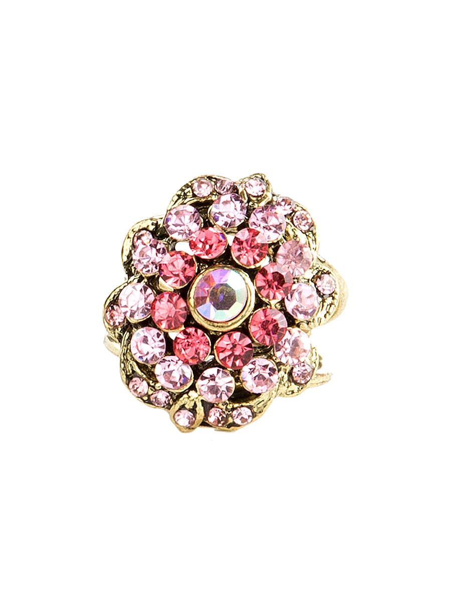 Кольцо для платка Charmante, цвет: розовый. ZK039Кольцо для платкаОригинальное кольцо для платка Charmante выполнено из металла. Кольцо декорировано блестящими стразами. Аксессуар с внутренней стороны дополнен кольцами-держателями.Стильное кольцо придаст вашему образу изюминку и подчеркнет индивидуальность.