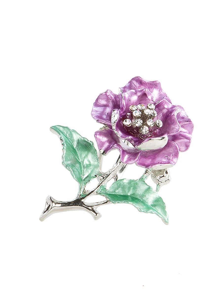 Кольцо для платка Charmante, цвет: сиреневый, зеленый. ZK052Кольцо для платкаОригинальное кольцо для платка Charmante выполнено из металла в виде цветка. Кольцо декорировано блестящими стразами. Аксессуар с внутренней стороны дополнен кольцами-держателями.Стильное кольцо придаст вашему образу изюминку и подчеркнет индивидуальность.