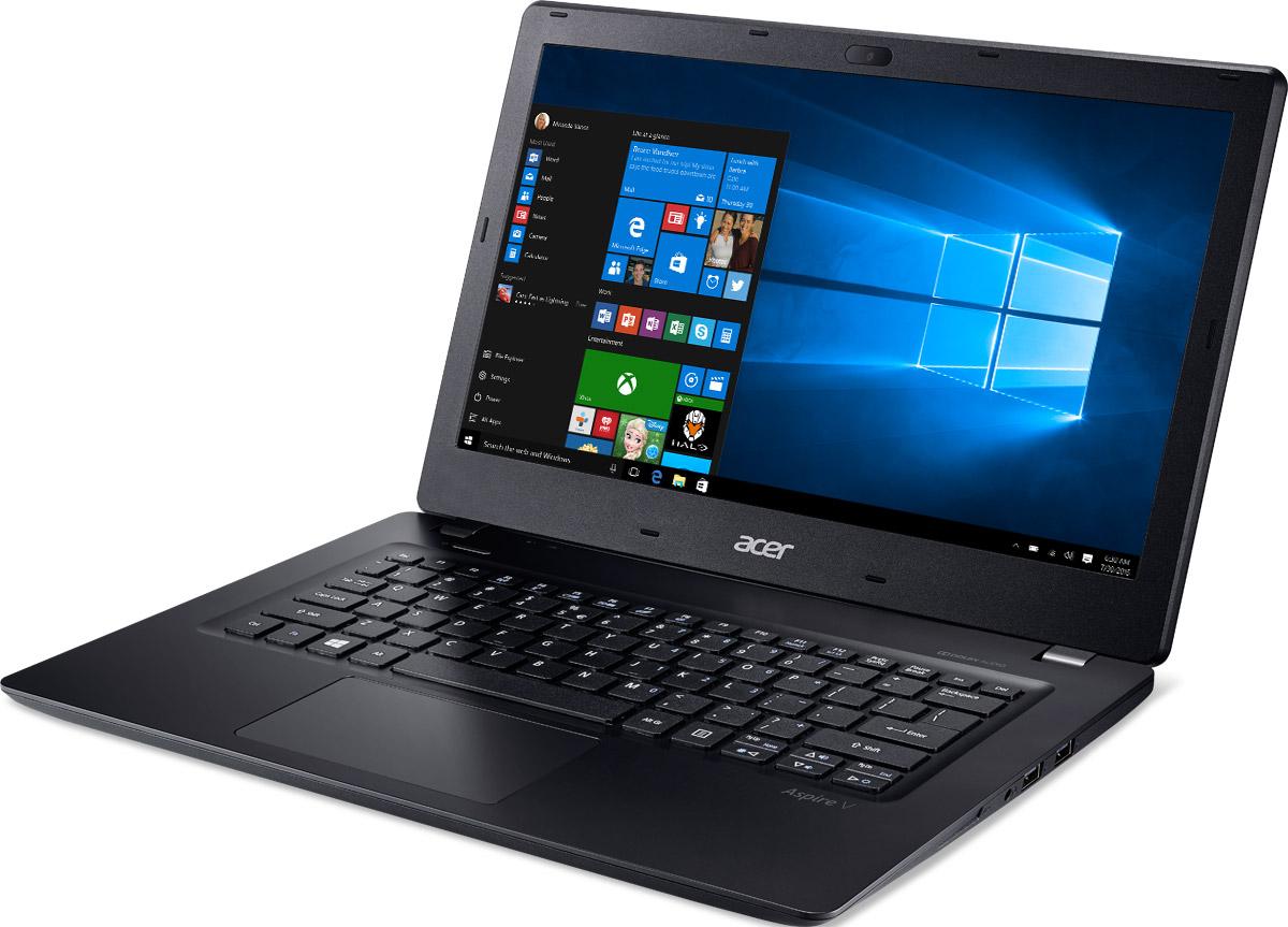 Acer Aspire V3-372, Black (V3-372-590J)V3-372-590JAcer Aspire V3-372 оптимизирован для потребностей современных пользователей и отличается превосходной производительностью, великолепными возможностями для развлечений, классическим дизайном. Ноутбуки Aspire V3 оснащены процессорами Intel Core и графическими адаптерами Intel HD Graphics, что гарантирует отличную производительность для работы в многозадачном режиме, комфортный просмотр фильмов и потокового видео высокой четкости.Отличие хороших ноутбуков от превосходных заключается в стильном и функциональном дизайне. Алюминиевая крышка и нанолитографический узор придают стиль этой прекрасной легкой конструкции ноутбука Acer Aspire V3.Ноутбук Aspire V3оснащен большим количеством портов и подключений, свозможностью зарядки через USB при выключенном питании: USB Type-C, беспроводное соединение 802.11ac и беспроводная технология MU-MIMO обеспечивают дополнительное удобство и высокую скорость подключения к интернету.Внешний вид это еще не все! Ноутбук Aspire V3 может работать 8 часов без подзарядки, он оснащен процессором Intel Core 6-го поколения и 4 ГБ оперативной памяти, что позволит вам эффективно работать, даже если рядом нет розетки.Оцените улучшенную реализацию Cortana для Windows, а также аппаратные средства, сертифицированные для Skype for Business. Наслаждайтесь превосходным звучанием фильмов и музыки с Dolby Audio. Аудиосистемы этого устройства идеально настроены и доведены до совершенства.Точные характеристики зависят от модели.Ноутбук сертифицирован EAC и имеет русифицированную клавиатуру и Руководство пользователя.