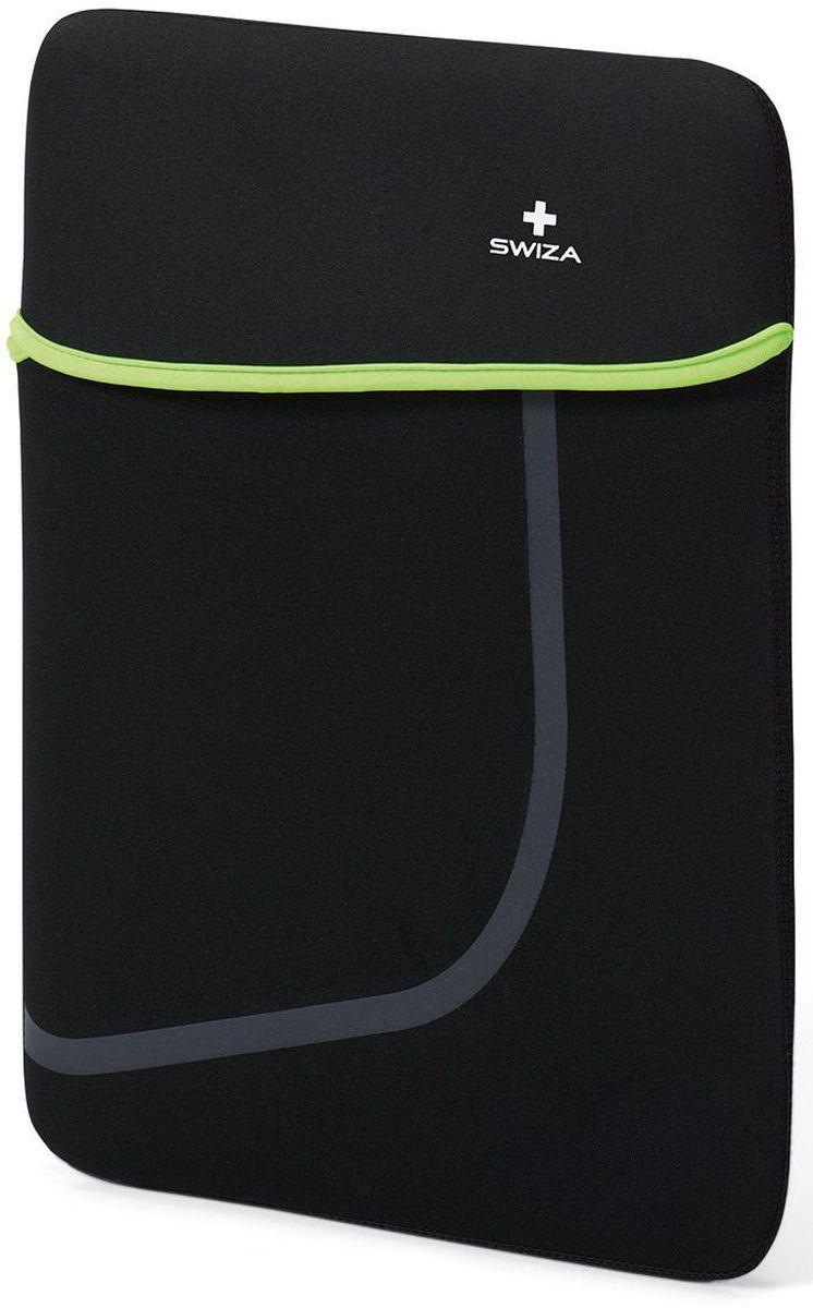 Чехол для планшета SWIZA  Moranda , цвет: черный, зеленый, 15  - Сумки и рюкзаки