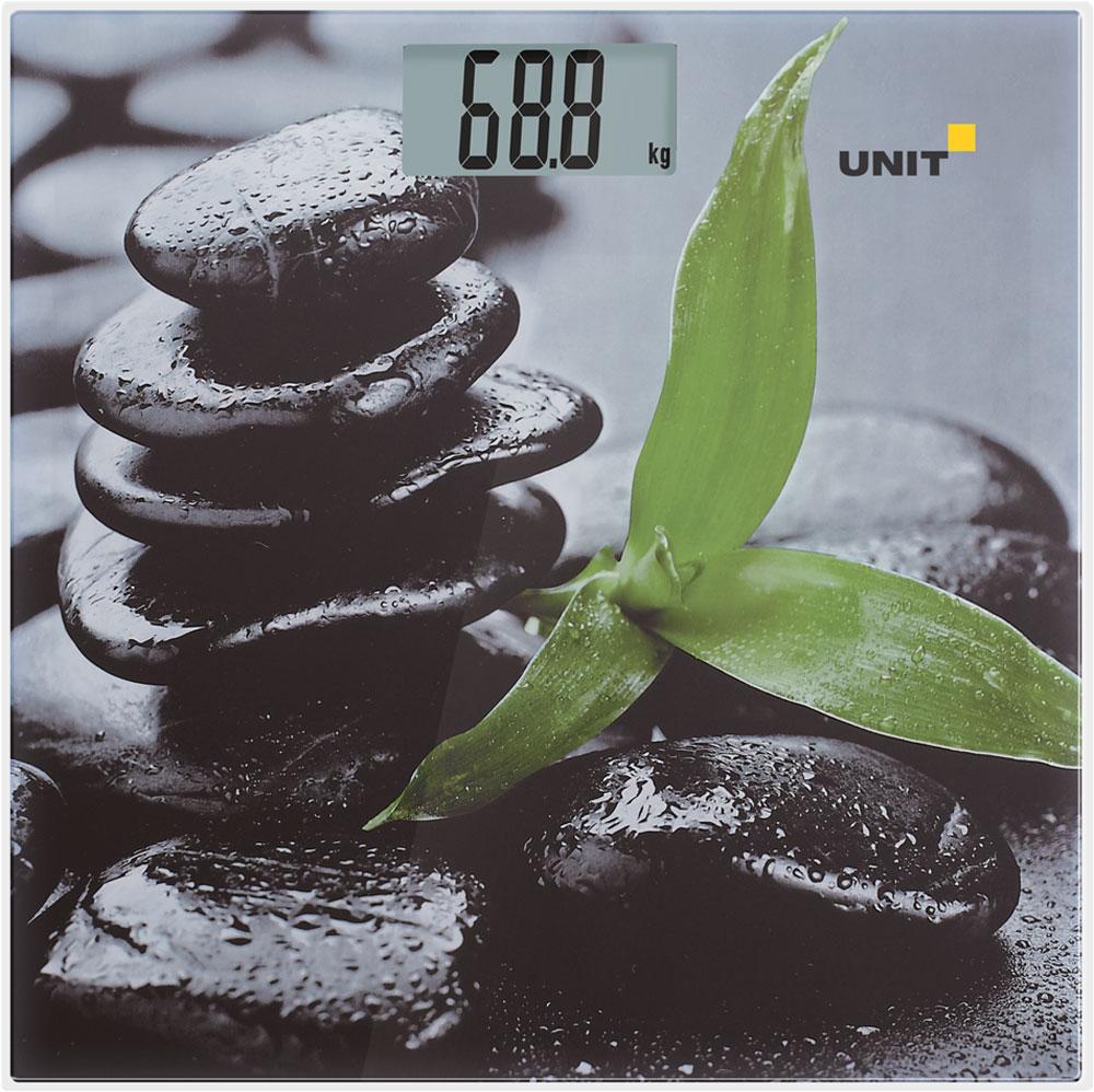Unit UBS-2056, Gray Black весы напольные электронные