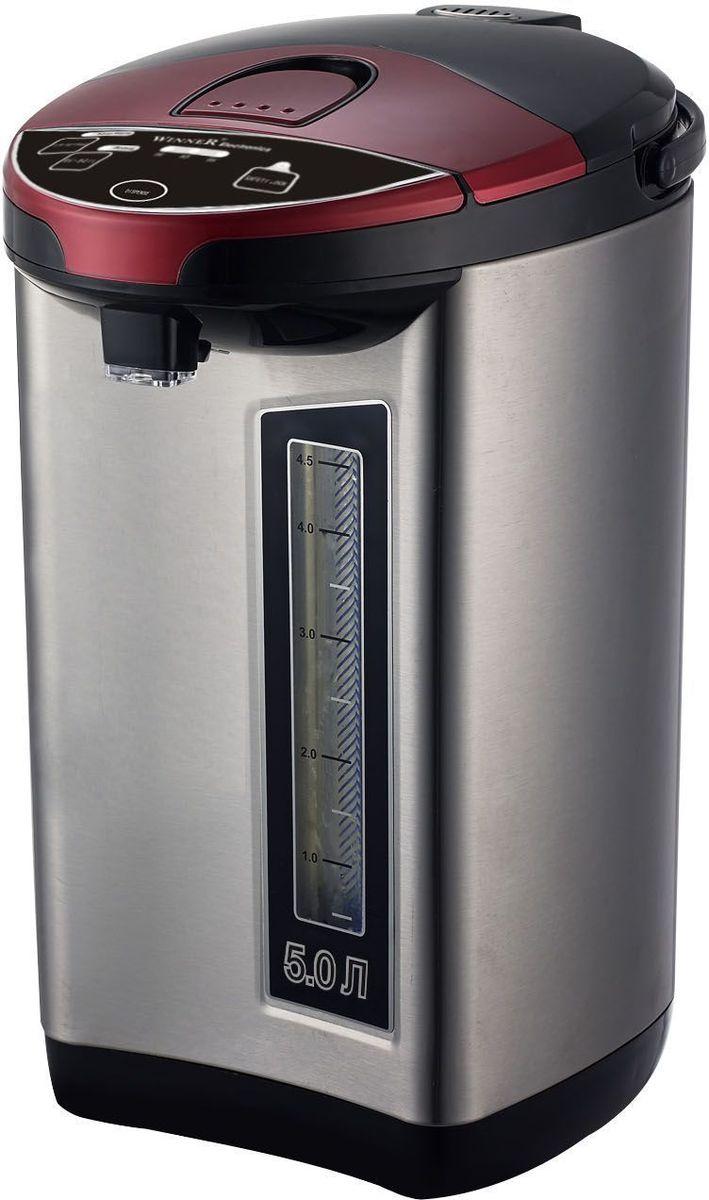 Winner WR-462, Silver Black термопотWR-462Термопот Winner WR-462 имеет свойство на длительный период сохранять горячую температуру воды. Яркий, стильный дизайн придаст любой кухне уникальность и эксклюзивность. Термопот экономит ваше время и электроэнергию, а это, согласитесь, является большим преимуществом для каждого домочадца. Если вдруг к вам внезапно заглянули гости, то с этим устройством вы всегда готовы их встретить.