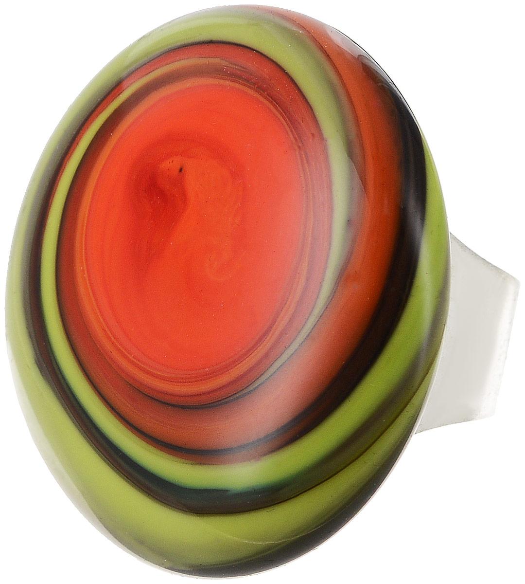 Кольцо коктейльное Лето. Муранское стекло, бижутерный сплав серебряного тона, ручная работа. Murano, Италия (Венеция)Коктейльное кольцоКольцо коктейльное Лето.Муранское стекло, бижутерный сплав серебряного тона, ручная работа.Murano, Италия (Венеция).Размер регулируется.Каждое изделие из муранского стекла уникально и может незначительно отличаться от того, что вы видите на фотографии.