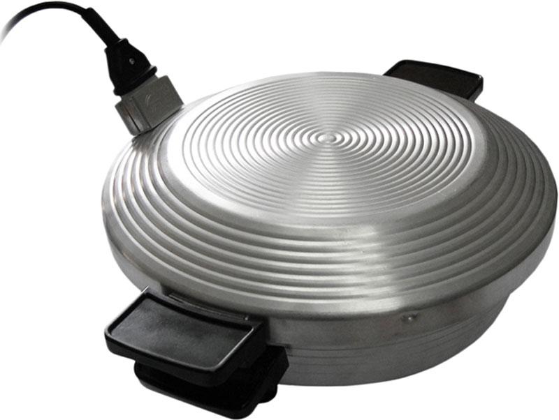Уралсиб Чудо электросковородаЧудоЭлектросковорода Чудо предназначена для приготовления различных мясных, рыбных и овощных блюд, а также для выпечки хлебобулочных и кондитерских изделий: пирогов, кексов, рулетов, пирожков, коржей для тортов.Электросковорода Чудо станет незаменимой помощницей для любой хозяйки. Этот простой и безотказный прибор способен на многое. Данное устройство представляет собой глубокую электрическую сковороду-кастрюлю объемом 3,5 литра, которая накрывается специальной крышкой с тэном. Встроенный нагревательный элемент не соприкасается с продуктами, что предотвращает саму возможность подгорания, а его выверенное месторасположение позволяет равномерно распределить температуру по всей поверхности печи.Для работы этого универсального прибора необходимо лишь подключение к сети 220 В, никаких дополнительных устройств и приспособлений не требуется. Стоит отметить, что эта электропечь может похвастать своей экономичностью, ведь потребляемая мощность не превышает отметки в 500 Ватт.Отдельного внимания заслуживает и тот факт, что электросковорода Чудо проста в использовании. Этим устройством можно пользоваться даже без какой-либо подготовки.Электросковорода Чудо может стать замечательным подарком. Ведь при помощи данного прибора можно с легкостью создавать необычные кулинарные шедевры, которые поразят гостей и домочадцев своим превосходным и оригинальным вкусом.