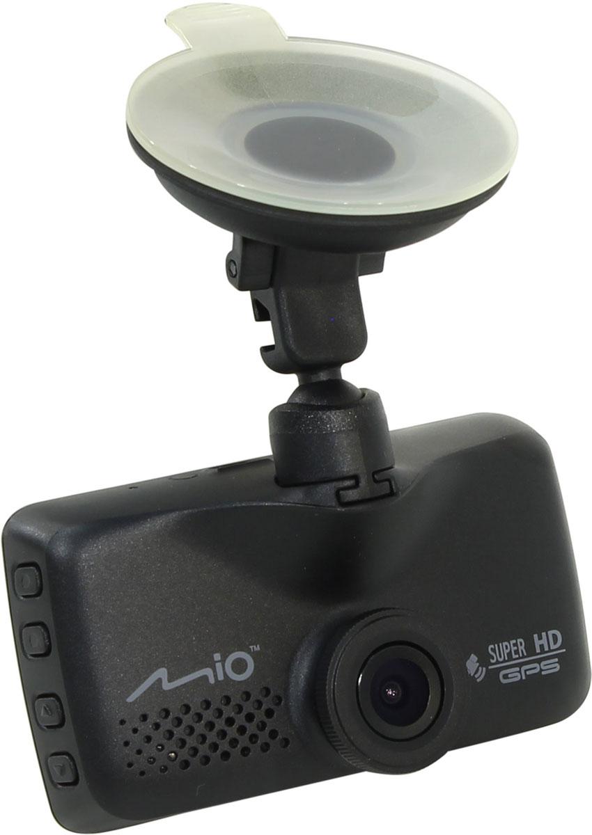 Mio Mivue 658, Black видеорегистраторMiVue 658MiVue 658 — новая модель в линейке видеорегистраторов Mio.Традиционно Mio делает акцент на высоком качестве изображения и четкости записи видео. Объектив состоит из 6 стеклянных линзи дополнен инфракрасным фильтром. Благодаря этому, цветопередача видео становится максимально естественной. Встроенный GPS-приемник обеспечивает работу функции умного оповещения о стационарных камерах контроля скорости. Наличие двух слотов для карт памяти microSD позволяет, в случае необходимости, скопировать файлы на дополнительную карту, что обеспечивает надежное резервное хранение.Широкий угол обзора 130° позволяет получить полную картину всегда и везде. Ручная установка экспозиции видеорегистратора позволяет в сложных условиях освещённости, таких как снегопад или яркие солнечные лучи, регулировать яркость видео.Чтобы не отвлекать Вас во время вождения, на дисплее будет указана текущая скорость движения и точное время. При приближении к камерам контроля скорости, на экране появится предупреждение об ограничении.Запатентованное умное оповещение SmartAlerts о камерах контроля скорости заранее предупреждает водителя. Дистанция до камеры выбирается автоматически в зависимости от вашей скорости. Пользователь самостоятельно может добавлять камеры контроля скорости на дороге.Контроль за соблюдением скорости позволяет настроить лимит допустимой скорости, при превышении которой, вы услышите звуковой сигнал.Теперь фотографии можно делать в процессе режима видеосъёмки, всего лишь нажав на кнопку фотоаппарата на экране видеорегистратора.Благодаря встроенному аккумулятору и технологии определения движения, видеорегистратор автоматически начинает запись, когда что-то происходит в кадре. Даже если никого не будет в машине, там останется надежный свидетель. При срабатывании датчика удара, видеорегистратор мгновенно начинает запись нестираемого видео для последующего анализа события и помещает его в нестираемый буфер памятиНаличие встроенного GPS приемника