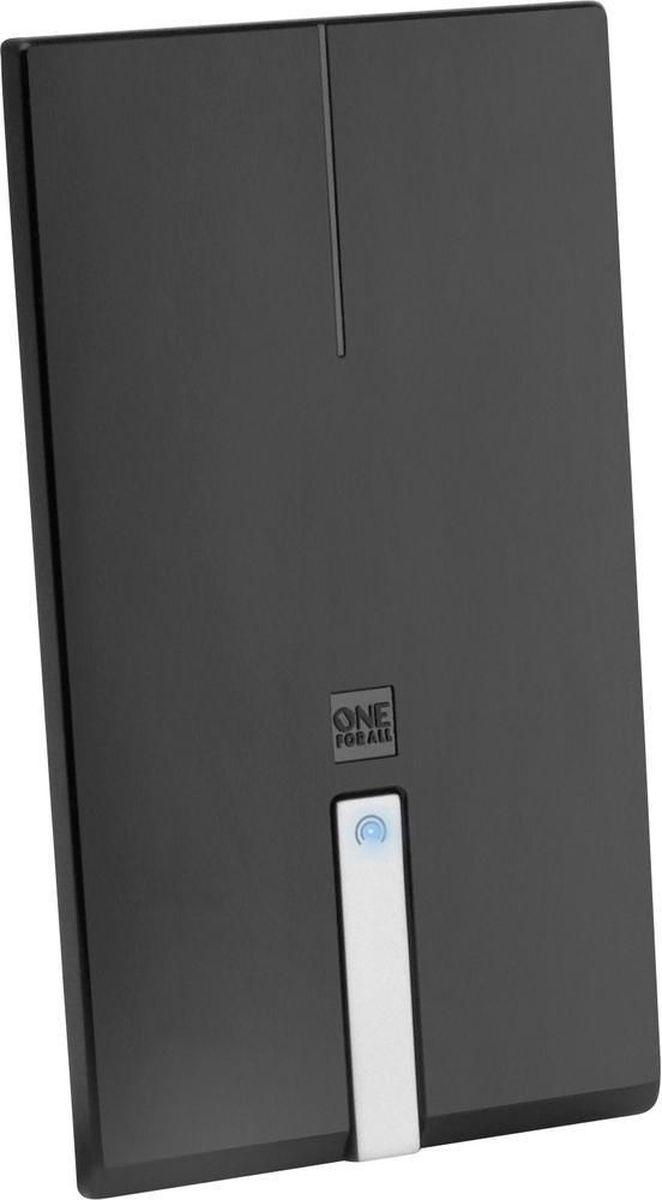 One For All SV9425 Premium Line, комнатная ТВ антеннаSV9425Лежа, стоя или на стене, One For All SV9425 Premium Line будет вписываться в любой интерьер. Может принимать все ваши любимые каналы в 4К Ultra HD, будь то телевидение (DVB-T/Т2) или радио (DAB+). Уникальная автоматическая регулировка усиления обеспечивает оптимальное усиление в любом месте. Для лучшей производительности One For All рекомендуют использовать эту антенну в пределах 25 км от ближайшего передатчика.Необходимый уровень усиления изменяется время от времени. Автоматическая регулировка усиления обеспечивает правильный уровень усиления все время. Минимальное вмешательство помех благодаря активным фильтрам подавления шума. В том числе 4G и GSM фильтры для кристально чистого приема.Для приема цифрового эфирного телевидения необходим телевизор с поддержкой стандарта DVB-T2. Если у телезрителя аналоговый приемник, то нужна цифровая приставка стандарта DVB-T2.Работа с радиодиапазонами VHF и UHFКоэффициент шума: 3,5 дБКоэффициент усиления: до 44 дБУгол приёма: 360 градусовДлина коаксиального кабеля: 1,5 метраАктивное шумоподавление