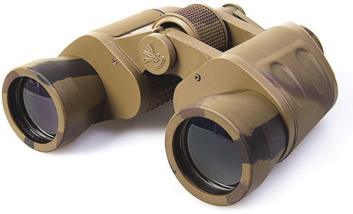 Бинокль Veber Classic, БПШЦ 8х40 VRWA10965Классический «военно-полевой» бинокль. Широкий угол, малые размеры и вес. Светосильный. Металлический корпус, повышенная стойкость к ударам. Удобно работать в перчатках, полужесткий кейс. Отделка корпуса резиной (VR), камуфлированный.ОПИСАНИЕБинокль имеет классические «военно-полевые» оптические характеристики. Широкое поле зрения позволяет легко обнаружить и сопровождать цель, а благодаря небольшому весу и размеру прибора, наблюдение комфортно вести длительное время без усталости рук. В сравнении с 8-кратным биноклем с диаметром объектива 30 мм, бинокль Veber Classic БПЦ 8x40 собирает света на 70% больше, следовательно он позволяет вести наблюдение в глубоких сумерках.Бинокль Veber Classic БПЦ 8x40 имеет металлический корпус и трудноистираемое просветляющее покрытие линз объективов и окуляров.Благодаря небольшому выносу объективов от корпуса, данная модель достаточно хорошо защищена от повреждений (разъюстировки) и случайных ударов.ОсобенностиУдаропрочный Возможность использования в темное время суток Призмы Porro Металлический корпус Многослойное, трудностираемое просветляющее покрытие объективов и окуляров Центральная фокусировка Возможность установки на штатив (через адаптер) Отделка корпуса резиной (VR) Широкоугольный (WA)Комплектация Кейс Защитные крышки Ткань для протирки оптики Шейный ремень Руководство по эксплуатацииХарактеристикиМинимальная дистанция фокусировки, м 5Диаметр выходного зрачка, мм 5Угловое поле зрения, град. 8.2Увеличение, крат 8Zoom нетДиаметр объектива, мм 40Линейное поле зрения (на расстоянии 1000 м), м 143Габаритные размеры, мм 145*65*175Диапазон рабочих температур, C от -10 до +40Вес, кг 0.730Цвет камуфлированныйМатериал корпуса алюминиевый сплавМатериал отделки корпуса резинаБинокль прошел индивидуальную настройку в сервисном центре компании, о чем свидетельствует наклейка с фамилией или номером мастера на корпусе прибора.