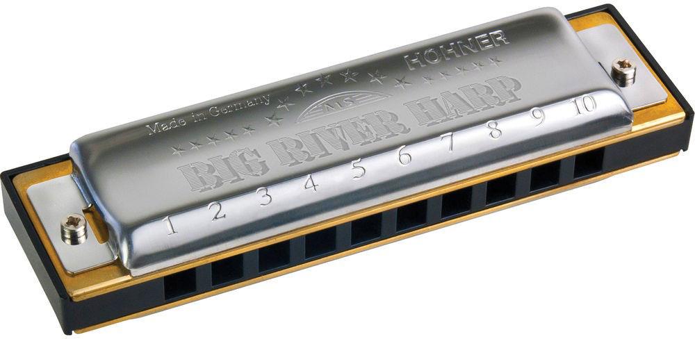 Hohner Big river harp 590/20 E (M590056X) губная гармошка - Духовые инструменты