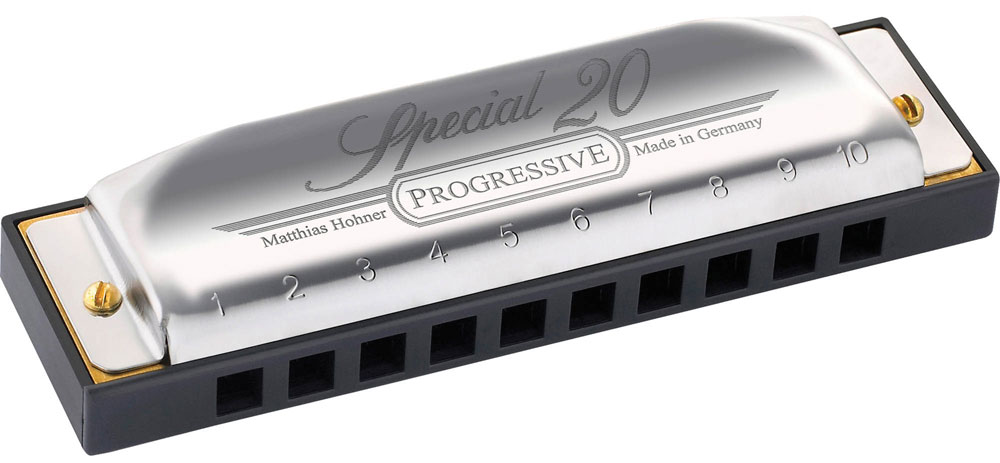 Hohner Special 20 560/20 D (M560036X) губная гармошка - Духовые инструменты