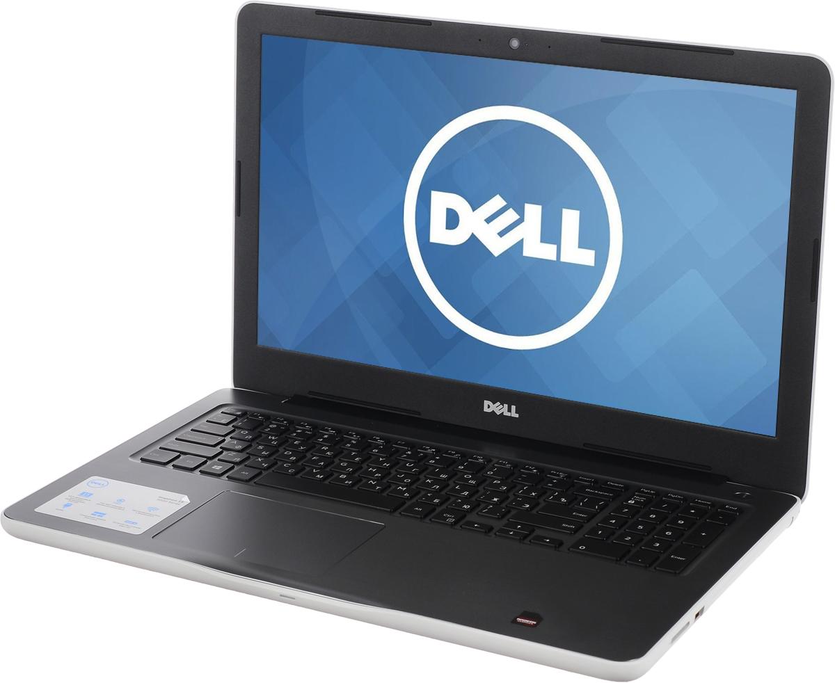 Dell Inspiron 5567, White (5567-0606)5567-0606Производительные процессоры седьмого поколения Intel Core i5, стильный дизайн и цвета на любой вкус - ноутбук Dell Inspiron 5567 - это идеальный мобильный помощник в любом месте и в любое время. Безупречное сочетание современных технологий и неповторимого стиля подарит новые яркие впечатления.Сделайте Dell Inspiron 5567 своим узлом связи. Поддерживать связь с друзьями и родственниками никогда не было так просто благодаря надежному WiFi-соединению и Bluetooth, встроенной HD веб-камере высокой четкости, ПО Skype и 15,6-дюймовому экрану, позволяющему почувствовать себя лицом к лицу с близкими.15,6-дюймовый экран с разрешением Full HD ноутбука Dell Inspiron оживляет происходящее на экране, где бы вы ни были. Вы можете еще более усилить впечатление, подключив телевизор или монитор с поддержкой HDMI через соответствующий порт. Возможно, вам больше не захочется покупать билеты в кино.Выделенный графический адаптер AMD RadeonR7 M445 позволяет выполнять ресурсоемкие процедуры редактирования фотографий и видеороликов без снижения производительности.Смотрите фильмы с DVD-дисков, записывайте компакт-диски или быстро загружайте системное программное обеспечение и приложения на свой компьютер с помощью внутреннего дисковода оптических дисков.Точные характеристики зависят от модели.Ноутбук сертифицирован EAC и имеет русифицированную клавиатуру и Руководство пользователя.