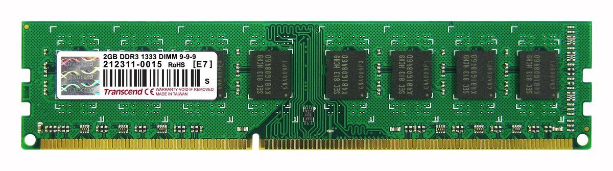 Transcend DDR3 DIMM 2GB 1333МГц модуль оперативной памятиTS256MLK64V3UМодуль памяти Transcend DDR3 DIMM 2GB построены с использованием чипов наивысшего качества DRAM от известных брендов и проходят тщательные испытания, чтобы гарантировать соответствие строгим требованиям Transcend к общему качеству и производительности. Небуферизованные модули DIMM Transcend DDR3 являются наиболее стабильными и надежными в отрасли, что также делает их экономичным решением для всех настольных компьютеров.Количество ранков: 2