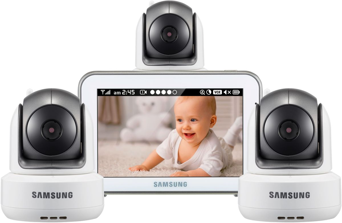 Samsung Видеоняня SEW-3043WPX3 -  Радио и видеоняни