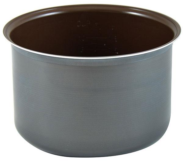 Moulinex XA101032 чаша для мультиварки7211001814Чаша для мультиварки Moulinex XA101032 изготовлена из высококачественного алюминиевого сплава. Антипригарное керамическое покрытие позволяет готовить пищу с использованием минимального количества масла и жиров, что сохраняет естественный вкус продуктов. Емкость легко и удобно моется, в том числе в посудомоечной машине. Толщина стенки составляет 2 мм.Подходит для мультиварок Moulinex MK705*, MK706*, MK707*