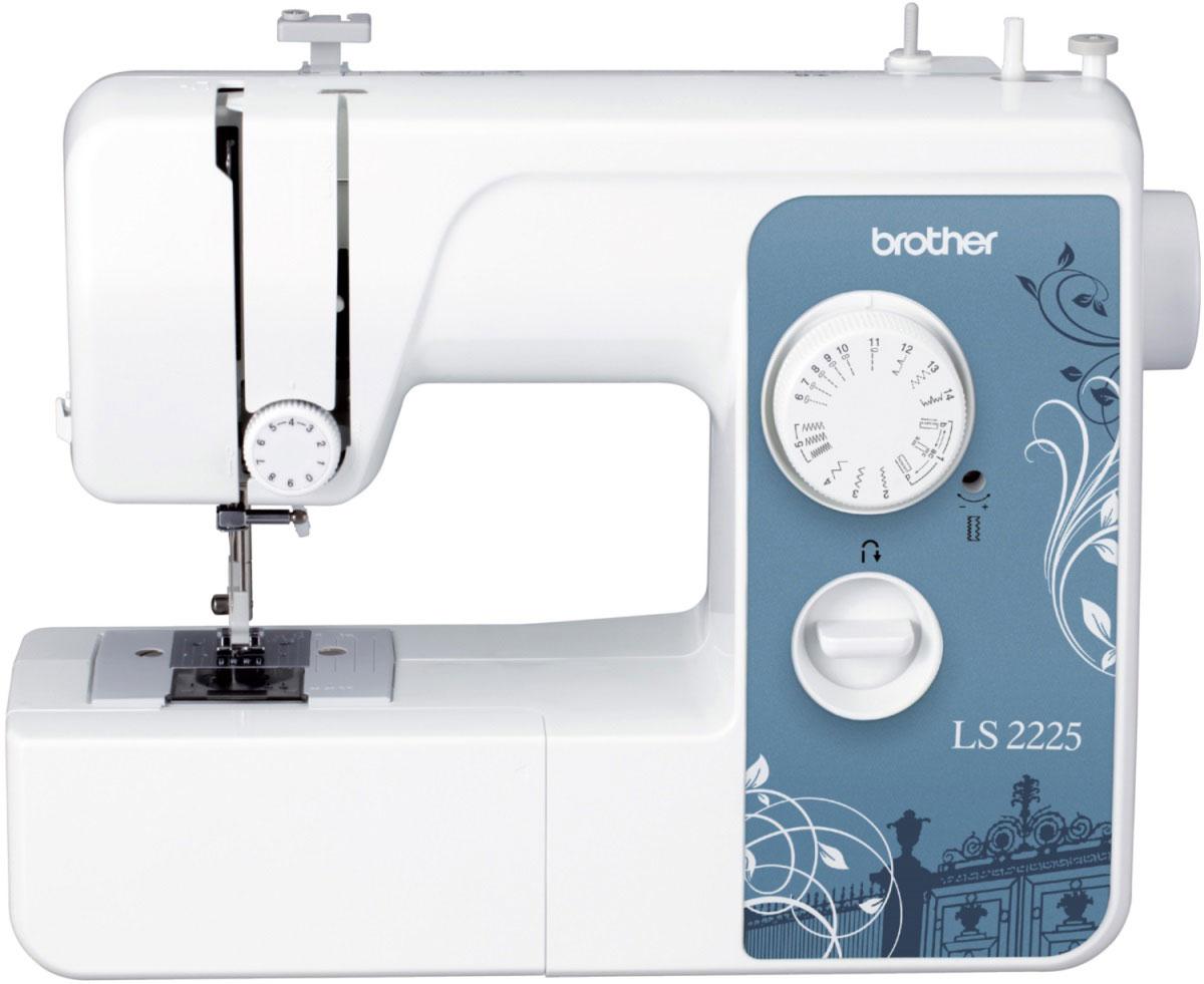 """Brother LS 2225 швейная машинаLS 2225Швейная машинка Brother LS-2225 отлично подходит для работы с различными видами материала – тканями средней плотности; тонкими тканями, такими как атлас или шаль; толстыми, такими как вельвет, джинса или твид; эластичными - трико и джерси, и даже легкоосыпающимися тканями.Модель предусматривает множество вариантов встроенных строчек, выбрать которые можно при помощи рукоятки управления – достаточно повернуть ее в любом необходимом направлении. Прямые строчки незаменимы для выполнения простых швов, также их можно использовать для отделки деталей одежды и при работе с легкими тканями. Для выполнения декоративных строчек пригодиться """"зигзаг"""". При этом, швейная машинка Brother LS-2225 предусматривает возможность установления длины стежка с помощью регулятора. Эластичная строчка как нельзя кстати придется для работы с эластичным материалом, соединения тканей или починки.Конструкция предусматривает плоскую платформу, которая легко снимается, образуя рукавную. На рукавной платформе можно обрабатывать трубчатые детали – манжеты, штанины брюк и другие.Натяжение верхней нити можно регулировать также при помощи рукоятки - достаточно повернуть его в положение с большим номером."""