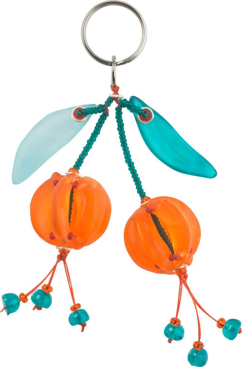 Брелок Lalo Treasures, цвет: оранжевый, голубой. 478193465Брелок Lalo Treasures изготовлен из ювелирной смолы ярких цветов. Он оформлен яркими подвесными ягодками и крепится к кольцу с помощью крепкого шнурка.Оригинальный брелок подчеркнет вашу индивидуальность, а также станет отличным подарком для любительниц модных новинок в мире аксессуаров.
