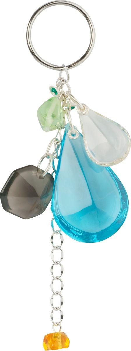 Брелок Lalo Treasures, цвет: голубой. KR4838 брелок для ключей lalo treasures цвет мультиколор