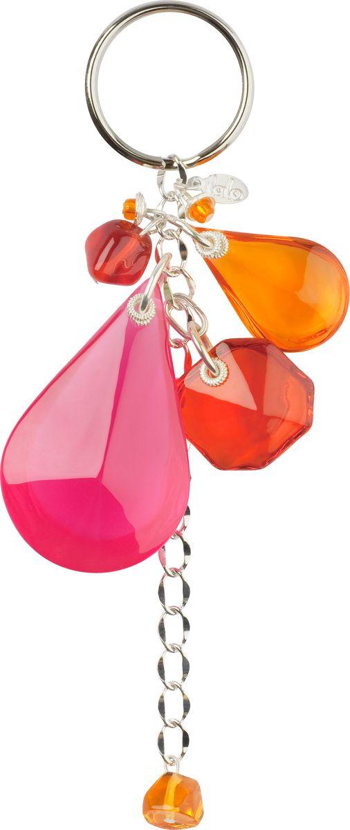 Брелок Lalo Treasures, цвет: розовый, оранжевый. KR4839Брелок для ключейБрелок Lalo Treasures изготовлен из ювелирной смолы ярких цветов. Он оформлен яркими подвесочками и крепится к кольцу с помощью крепкого шнурка.Оригинальный брелок подчеркнет вашу индивидуальность, а также станет отличным подарком для любительниц модных новинок в мире аксессуаров.
