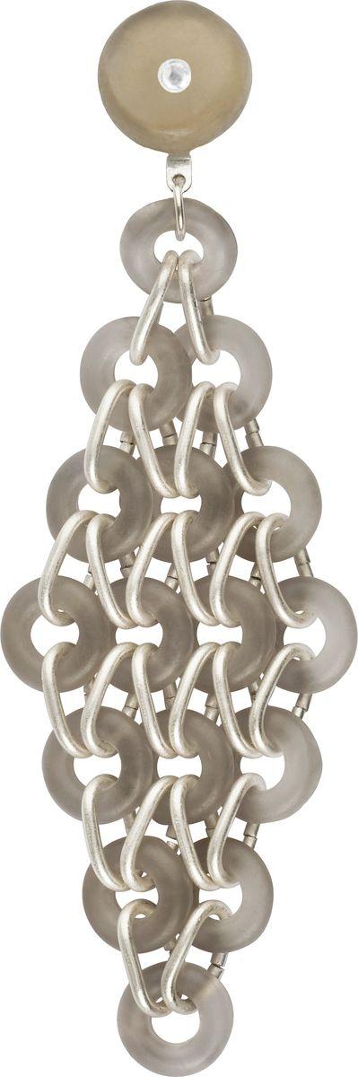 Серьги Lalo Treasures, цвет: серый. E3464/6Серьги с подвескамиОригинальные серьги Lalo Treasures изготовлены из металлического сплава, дополнены декоративными элементами из ювелирной смолы.Изделие застегивается на замок-гвоздик с заглушкой, который надежно зафиксирует серьги.Стильные серьги представляют собой оригинальное соединение небольших пластин, они не оставят равнодушной ни одну любительницу изысканных украшений и помогут создать собственный неповторимый образ.