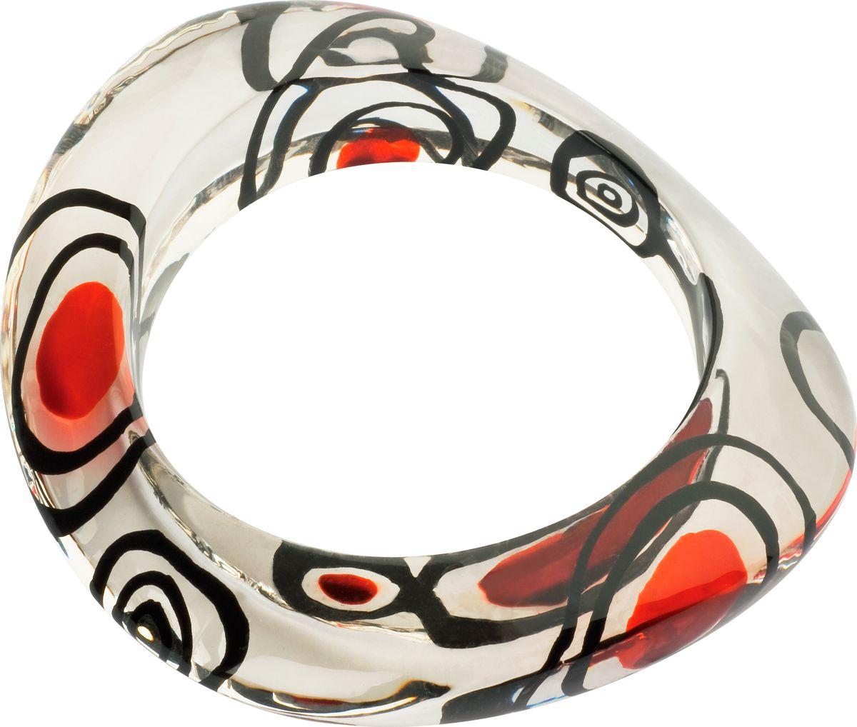 Браслет Lalo Treasures, цвет: прозрачный, красный. B2448/1sГлидерный браслетОригинальный браслет Lalo Treasures выполнен из ювелирной смолы и металлического сплава.Браслет состоит из одного декоративного элемента неправильной формы.Стильное украшение поможет дополнить любой образ и привнести в него завершающий яркий штрих.