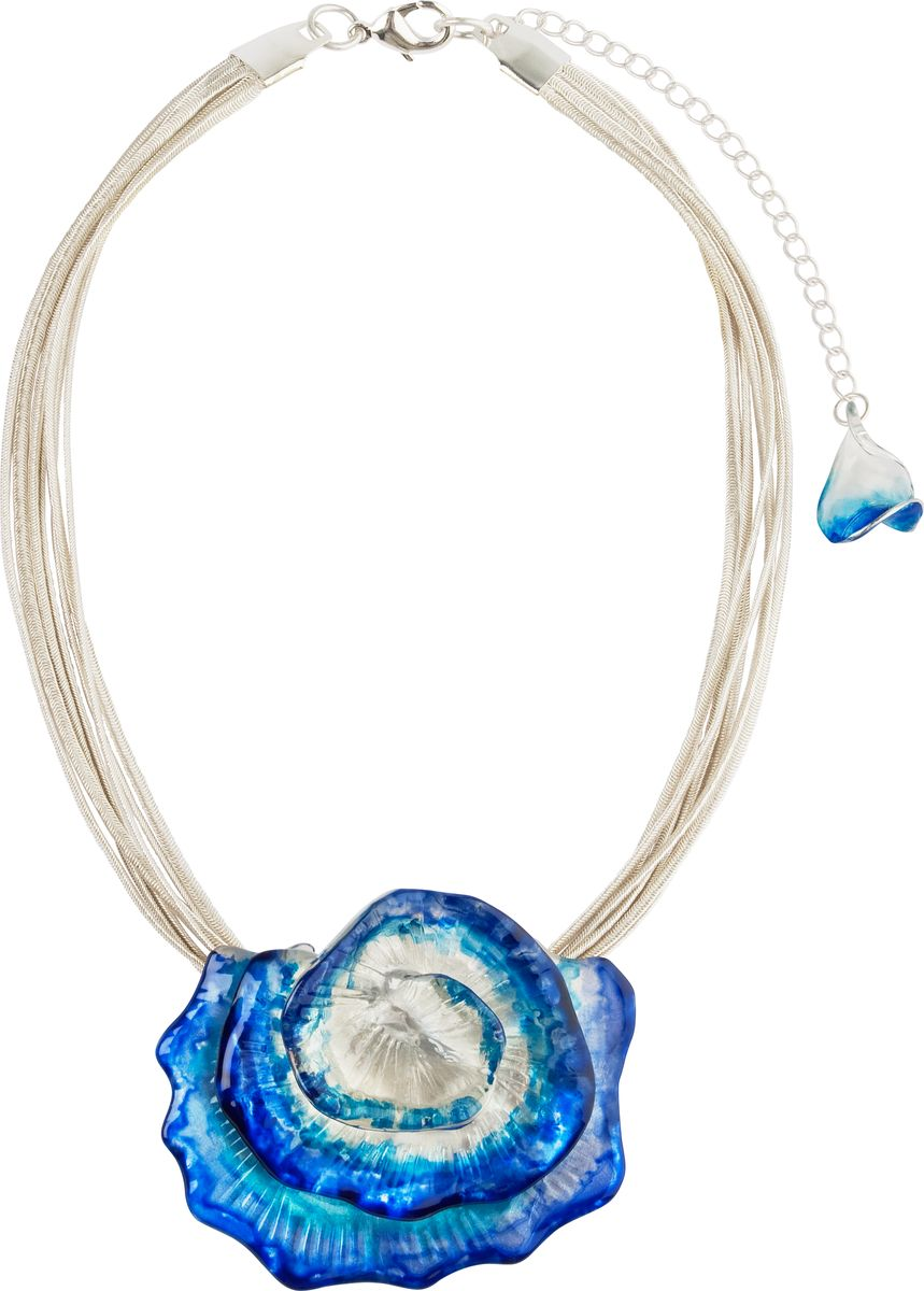 Кулон Lalo Treasures, цвет: голубой. P4520/1Брошь-кулонКулон Lalo Treasures выполнен из сплава ювелирной смолы в виде подвесного нежного цветка. Кулон дополнен сочетанием цепочек, которые застегиваются на замок-карабин. Длина изделия регулируется за счет дополнительных звеньев.Кулон Lalo Treasures поможет дополнить любой образ и привнести в него завершающий штрих.