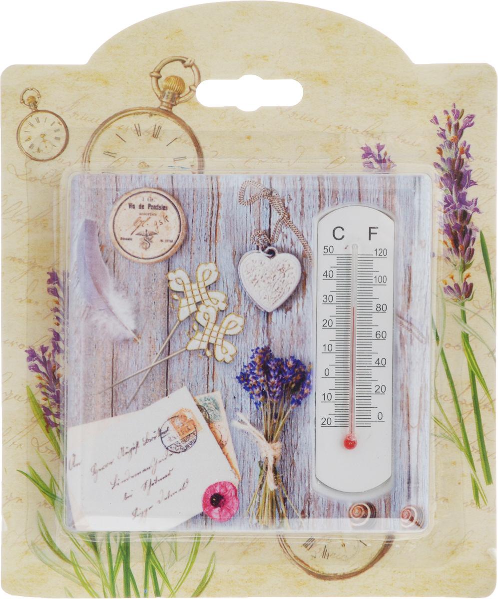 Термометр декоративный Magic Home, 10 х 10 см. 4340743407Комнатный термометр Magic Home, изготовленный из фаянса, декорирован оригинальным изображением. Термометр имеет шкалу измерения температуры по Цельсию (-20°С - +50°С) и по Фаренгейту (-0°F - +120°F).Благодаря такому термометру вы всегда будете точно знать, насколько тепло в помещении. Изделие оснащено специальной петелькой для подвешивания и ножкой для расположения на столе. Оригинальный дизайн не оставит равнодушным никого. Термометр удачно впишется в обстановку жилого помещения.