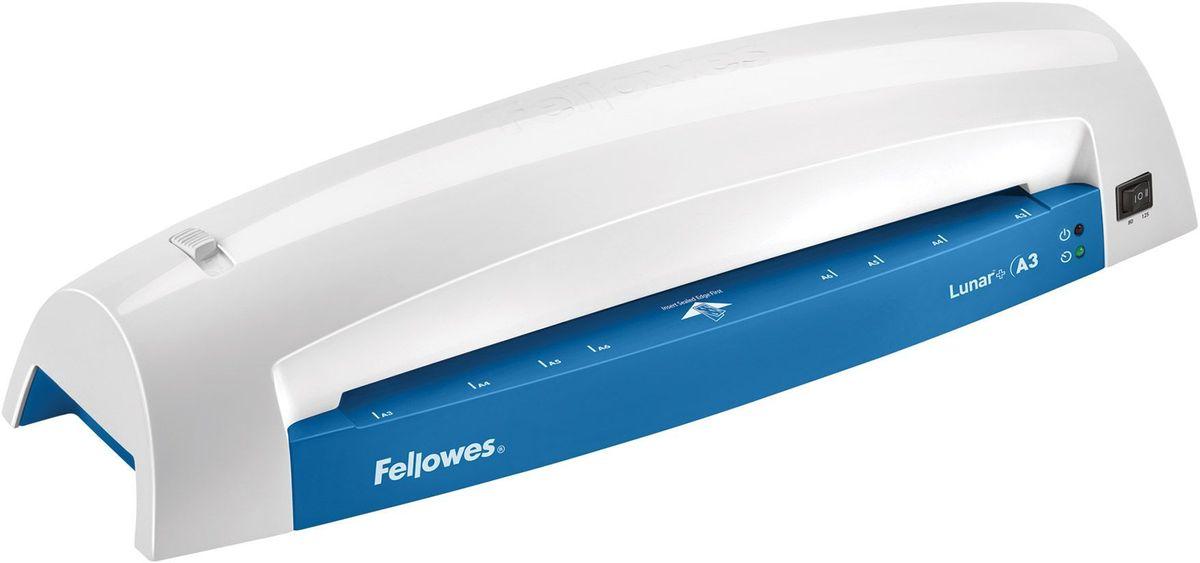Fellowes Lunar+ A3, Grey Blue ламинаторFS-57425Lunar A3+ – ламинатор начального уровня для домашнего офиса и использования время от времени. Ламинатор Lunar A3 предназначен для работы с пленкой 75/80/125 мкм