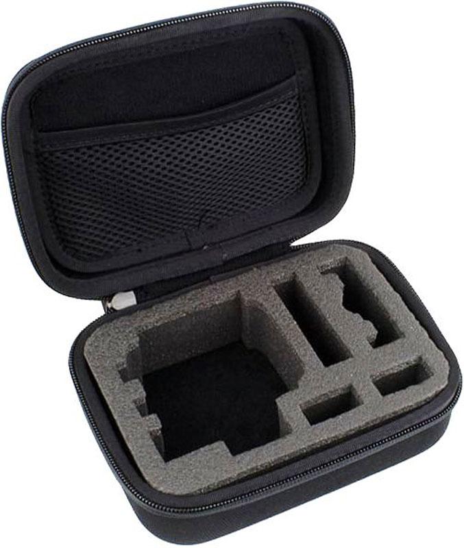 Eken GP83 кейс для экшн-камеры GoPro, EkenGP83Кейс Eken GP83 предназначен для транспортировки экшн-камеры GoPro или Eken. В нем предусмотрено место как для самой экшн-камеры, так и для аксессуаров, которые могут понадобиться ее владельцу во время съемки: флешек, креплений и так далее.Благодаря лаконичному дизайну кейс хорошо сочетается с различными стилями одежды. Он выполнен из прочного практичного материала и благодаря продуманной конструкции эффективно защищает камеру и аксессуары от влаги и ударов.