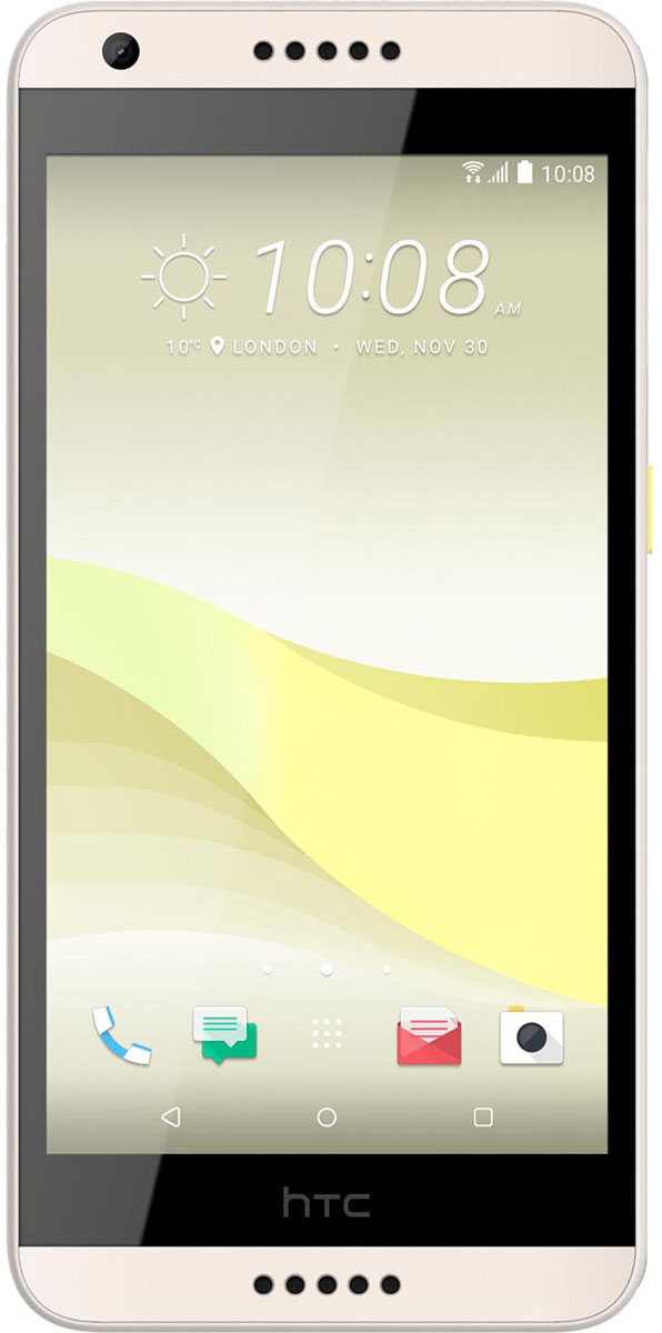 HTC Desire 650, Lime Light99HALF029-00HTC Desire 650 - стильный смартфон с отделкой soft-touch и рифленой поверхностью. Это добавляет уже привычному дизайну смартфонов уникальные черты. Рифленая задняя крышка придает дополнительную стабильность в захвате устройства при использовании.Кто же не любит удобно расположиться в любимом кресле и скоротать вечер в интернете. При использовании Ночного режима в цветах экрана начинают преобладать более теплые оттенки, что делает чтение в условиях недостаточного освещения более комфортным.Сохраняй детальные воспоминания о встречах с друзьями. Основная камера HTC Desire 650 позволяет снимать более четкие фото и видео в любом месте и в любое время. Решил похвастаться крутым снимком горных вершин - переключайся в режим панорамы с проводкой до 180°. Наличие BSI сенсора позволит делать качественные фотографии даже в условиях недостаточной освещенности.Высококачественный сенсор фронтальной камеры НТС Desire 650 поможет делать отличные снимки, а встроенные инструменты - проявить творческий подход к созданию селфи. Хотите выглядеть идеально на снимке - включайте функцию Быстрый макияж А возможности функций Автоселфи, Голосовое селфи и Определение улыбки позволят навсегда забыть о статичных селфи.Экран покрыт суперпрочным и стойким к образованию царапин защитным стеклом Corning Gorilla Glass.Наденьте наушники и погрузись в атмосферу качественного звучания. Трудно поверить, что смартфон способен на такое. HTC Desire 650 сертифицирован по стандарту Hi-Res Audio, а это значит, что вам станет доступно высококачественное звучание, раскрывающее каждую ноту, каждый переход и каждый нюанс аудио в любимых музыкальных треках и фильмах.Новые темы оформления рабочего стола HTC Freestyle снимают привычные границы, позволяя стать настоящим творцом. Двигайте иконки и виджеты как хочется, вращайте, меняйте их размер, накладывайте друг на друга. Привязывайте картинки и значки к любым приложениям, создавая неповторимое, твое собственное пространство, своб