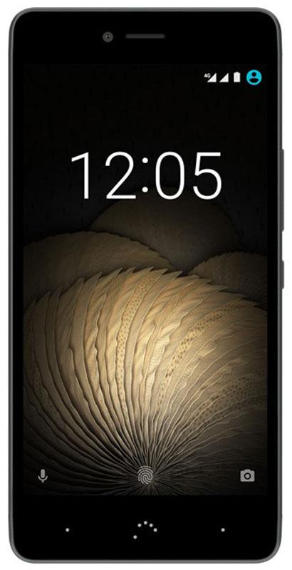 BQ Aquaris U Plus 16GB, Black Anthracite GrayBQ U Plus 4G (16+2GB) black/greyAquaris U Plus - первый смартфон BQ выполненный из металла. Изогнутые линии - это не просто дань элегантности, они обнимают экран смартфона, делая его более эргономичным. Производственный процесс начинается с тщательной прорисовки каждой детали и заканчивается процессом анодирования и пескоструйной обработкой алюминия, что позволяет получить идеальный цвет, полированную текстуру и сделать смартфон невероятно приятным на ощупь. Результат - легкое, но прочное устройство.Камера Aquaris U Plus не только идеальный спутник в повседневной жизни, вам также захочется использовать ее и в особых случаях. Вам не нужен больше фотоаппарат, потому что 16 МП камера, благодаря 5 линзам Largan и апертуре f/2.0 поможет вам делать четкие снимки, отличающиеся сочными цветами и удивительно высоким уровнем детализации.Делайте фотографии в движении благодаря фазовому автофокусу (PDAF) и получайте высококачественные изображения, с помощью функции HDR (High Dynamic Range) можно сделать более реалистичные фотографии, на которых не будет слишком освещенных или затемненных зон. А если вы хотите вручную ретушировать фотографии, их можно сохранить в формате RAW.Теперь селфи будут получаться гораздо лучше. Благодаря функции Селфи-индикатор, которая подсказывает вам, куда направить взгляд, на фотографии вы всегда будете смотреть в камеру. А с помощью быстрой съемки вам будет гораздо проще сделать больше фотографий и запечатлять еще больше прекрасных моментов.Делать панорамные фотографии теперь проще, чем когда-либо, потому что режим предварительного просмотра показывает состояние изображения в режиме реального времени. Кроме того, приложение камеры дает возможность настроить вручную такие параметры, как время экспозиции, фокус и ISO.Благодаря Full HD разрешению, вы сможете записывать видео, качество которого удивит ваших друзей, а также делать фотографии во время записи. Создавайте клипы полные красок: заснимите закат солн