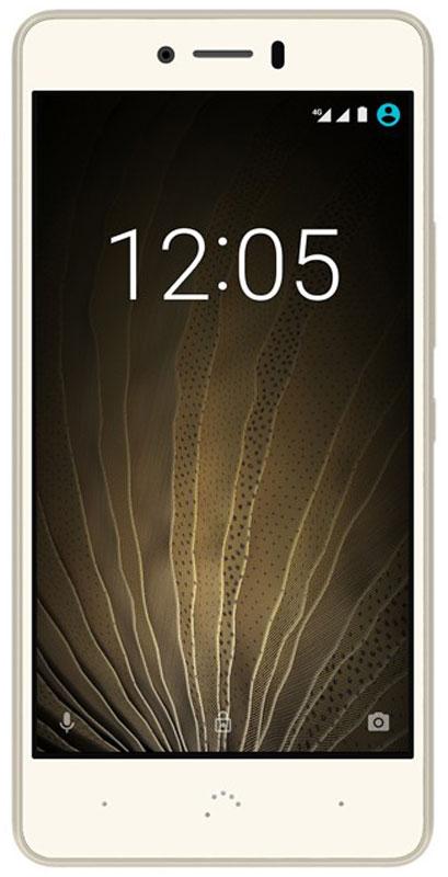 BQ Aquaris U Lite, White GoldBQ U Lite 4G (16+2GB) white/goldИзящно изогнутые линии BQ Aquaris U Lite - это не только эстетика, но и обновленная эргономика. Его слегка изогнутая задняя панель уменьшает искажения, улучшая качество звучания динамиков. Экран устройства покрыт защитным стеклом NEG Dinorex, который защищает его от механического воздействия и царапин.Теперь не нужно искать оправдания, чтобы делать потрясающие снимки. Задняя камера Aquaris U Lite 8 МП, апертура f/2.0 и HDR позволяют получить более реалистичные, четкие и контрастные изображения. А если вы хотите ретушировать ваши фотографии вручную, можно сохранить их в формате RAW.Визуальная рамка-подсказка для красивых селфи. Теперь селфи получаются намного лучше. Благодаря функции селфи индикатора, с помощью которого взгляд всегда получается в камеру. Легкая съемка – лучшие фото.Делать панорамные фотографии теперь проще, чем когда-либо. Режим предварительного просмотра показывает состояние изображения в реальном времени. Кроме того, приложение камеры дает возможность настроить вручную такие параметры, как время экспозиции, фокус и ISO.Благодаря Full HD разрешению, вы сможете записывать видео, качество которых удивит ваших друзей, а также делать фотографии во время записи. Создавайте эффектные клипы заката солнца, движения облаков или морской прилив, с помощью режима Промежуток времени.В течение дня устаете не только вы, но и ваш смартфон: фотографии, видео, сообщения, игры, книги, упражнения, GPS, звонки, музыка... И все это внутри легкого и тонкого телефона. Вам просто необходимо устройство, способное держать заряд с утра до ночи, например, Aquaris U Lite с аккумулятором 3080 мАч. Чтобы обеспечить более эффективное потребление энергии, установите таймер для автоматического включения и отключения всякий раз, когда вы захотите.Процессор Qualcomm Snapdragon 425 предлагает идеальный баланс мощности, эффективности многозадачности и низкого энергопотребления. Результат - смартфон с высокой производительностью