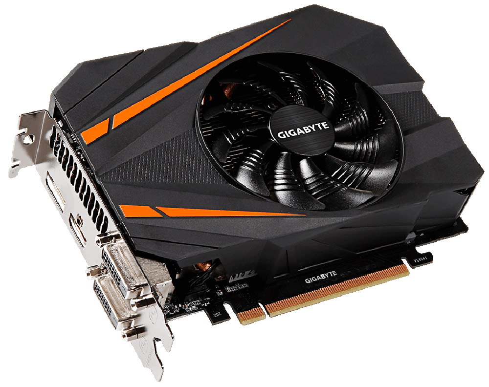 Gigabyte GeForce GTX 1070 Mini ITX OC 8GB видеокарта (GV-N1070IXOC-8GD)