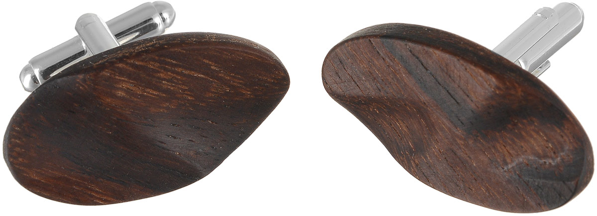 Запонки Палисандр, 3 х 1,5 см. Ручная работа. Автор Дмитрий ШульцЗапонки симметричныеЗапонки ручной работы изготовлены из натурального дерева и металла. Изделие застегивается с помощью вращающегося штырька. Такое оригинальное украшение - это блестящее завершение вашего неповторимого, смелого образа и отличный подарок любителю стильных вещиц! Ручная работа. Автор Дмитрий Шульц.Просим обратить ваше внимание на то, что работа, выполненная на заказ, может незначительно отличаться от представленной на фото, так как это авторская работа.