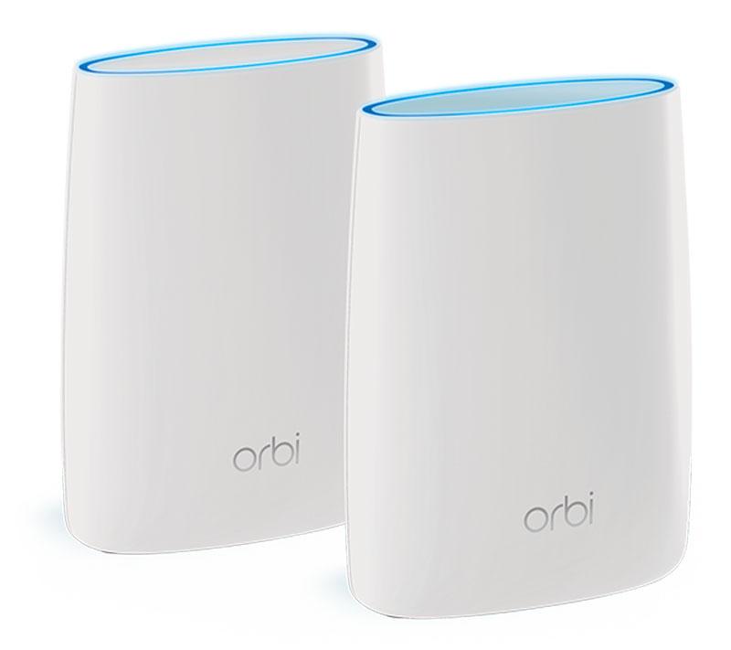 Netgear ORBI-RBK50-100PES беспроводная WiFi системаRBK50-100PESNetgear Orbi (RBK50-100PES) — это первая в мире трехдиапазонная домашняя WiFi-система. С Orbi у вас всегда будет надежная, защищенная и высокоскоростная сеть WiFi. Свободно перемещайтесь по квартире, дому или даже по двору дома, не беспокоясь о качестве и скорости подключения.Orbi — это единственная домашняя WiFi-система, использующая технологию выделенной трехдиапазонной сети. Другие распределенные системы первого поколения используют двухдиапазонные технологии и технологии ячеистой сети, которые снижают скорость WiFi при подключении дополнительных устройств и даже при добавлении новых ячеек. Orbi предоставляет выделенный третий диапазон, который не снижает пропускную способность при подключении устройств к Интернету даже при добавлении дополнительных устройств Orbi или WiFi.Используя мощные усилители, Orbi обеспечивает большую зону покрытия и более высокую скорость соединения, чем распределенные системы и повторители 1-го поколения, и создает единую высокоскоростную сеть во всем доме.Никаких мертвых зон и обрывов подключения. Доступ к беспроводной сети WiFi обеспечивается всегда, в любом уголке вашего дома. Домашняя WiFi-система Orbi обеспечивает покрытие беспроводной сети на площади до 440 квадратных метров даже сквозь стены, лестницы и двери благодаря технологии выделенной трехдиапазонной сети.Буферизация больше не будет мешать вам смотреть фильмы. Orbi создает сверхскоростную интернет-магистраль для всех ваших устройств — забудьте о буферизации и задержках. Трехдиапазонная WiFi-система Orbi работает с уже имеющимся у вас модемом вашего интернет-провайдера и позволяет получить на всей площади вашего дома максимальную скорость Интернета, за которую вы платите.В отличие от других домашних WiFi-систем Orbi работает с вашим интернет-провайдером без какой-либо дополнительной настройки и не требует замены имеющегося оборудования. Orbi использует единое имя беспроводной сети (SSID), поэтому ваш безопасный W