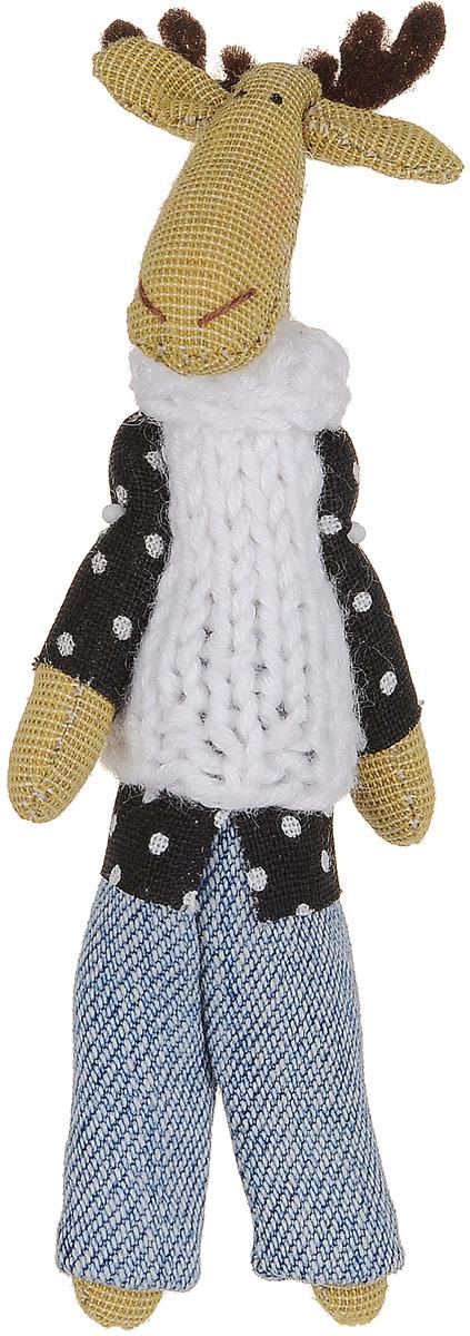 Брошь Коричневый лось в белоснежном свитере, 9 х 3 см. Ручная работа. Автор Леся КелбаБрошь-булавкаОригинальная брошь Лось в свитере изготовлена из качественного текстиля. Брошь выполнена в виде фигурки симпатичного животного с подвижными лапками. Товары KELBA создается вручную и с хорошим настроением, чтобы вам принести позитив и удовольствие.Тип крепления - булавка с застежкой. Брошь можно носить на одежде, шляпе, рюкзаке или сумке. Ручная работа. Автор Леся Келба.Просим обратить ваше внимание на то, что работа, выполненная на заказ, может незначительно отличаться от представленной на фото, так как это авторская работа.