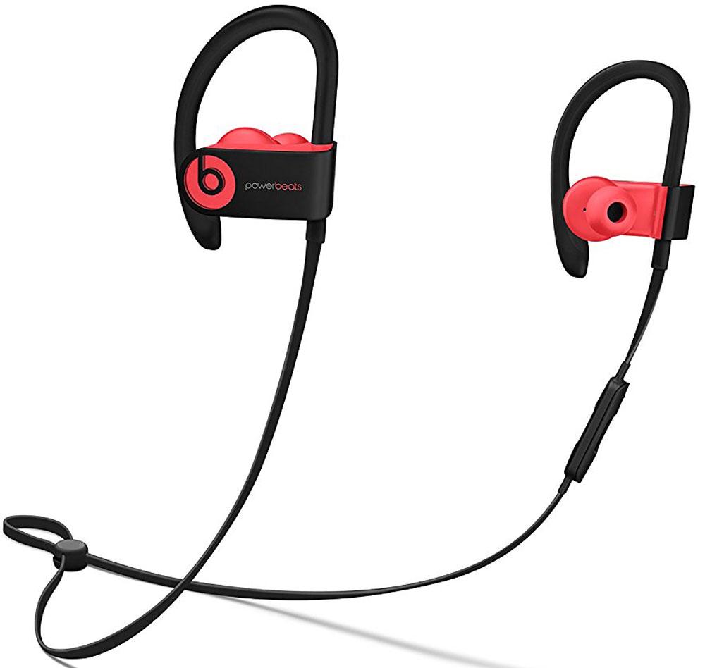 Beats Powerbeats 3 Wireless, Siren Red наушникиMNLY2ZE/AБеспроводные наушники Powerbeats 3 Wireless работают до 12 часов от аккумулятора - они готовы к любым нагрузкам. С ними вы заряжены на длительные интенсивные тренировки. Их мощный звук даст вам силы и энергию двигаться только вперед.Apple и Beats переворачивают наше представление о музыке с новой технологией Apple W1. Оснащенные встроенным чипом W1 наушники Powerbeats 3 легко подключаются к любому устройству Apple, дольше работают без аккумулятора и заряжаются всего за 5 минут благодаря технологии Fast Fuel.С функцией Fast Fuel вы сможете тренироваться ещё дольше и тратить меньше времени на зарядку. 5-минутной подзарядки будет достаточно для того, чтобы тренироваться под музыку ещё целый час.Тренируйтесь с максимальной отдачей в любую погоду - эти наушники с защитой от влаги и пота зарядят вас энергией для новых достижений.Прокачайте свой плейлист. Система с двумя акустическими головками создает широкий диапазон звука с прозрачными верхними и мощными нижними частотами - Beats подарит вам непревзойденное качество звука.Закрепите кабель наушников фиксатором и наслаждайтесь свободой. Что бы вы ни делали, наушники останутся на месте! Beats усовершенствовали конструкцию кабеля RemoteTalk. Не бойтесь, он не потерял ни одной из встроенных функций и по-прежнему совместим с Siri. А вот менять громкость, переключать композиции и отвечать на звонки стало гораздо удобнее.