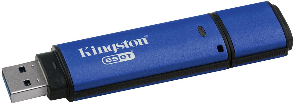 Kingston DataTraveler Vault Privacy 3.0 Anti-Virus 4GB USB-накопительDTVP30AV/4GBUSB-накопитель DataTraveler Vault Privacy 3.0 Anti-Virus компании Kingston обеспечивает доступную по цене защиту бизнес-класса с 256-битным аппаратным шифрованием AES в режиме XTS. Он защищает 100% хранящихся данных и усиливает комплексную парольную защиту при помощи специальных требований для предотвращения несанкционированного доступа. Кроме того, накопитель блокируется и переформатируется после 10 попыток взлома.DataTraveler Vault Privacy 3.0 Anti-Virus поставляется с антивирусной защитой ESET, которая защищает содержимое накопителя от вирусов, шпионских и троянских программ, червей, руткитов, рекламного ПО и других интернет-угроз. Антивирусная технология ESET NOD32 обеспечивает мгновенное отображение предупреждений. Эта антивирусная защита не требует установки и поставляется с предварительно активированной пятилетней лицензией.Организации могут настраивать накопители, чтобы они соответствовали внутренним корпоративным требованиям. С помощью настройки можно нанести логотип (Co-logo), указать серийные номера, количество попыток ввода пароля, минимальную длину пароля и собственные идентификаторы продукции для интеграции в стандартное конечное ПО управления (создание белых списков).Технология SuperSpeed USB 3.0 позволяет не идти на компромиссы между скоростью передачи и безопасностью. DTVP 3.0 сертифицирован по FIPS 197 и соответствует стандарту TAA, поэтому удовлетворяет самым распространенным корпоративным и нормативным требованиям.