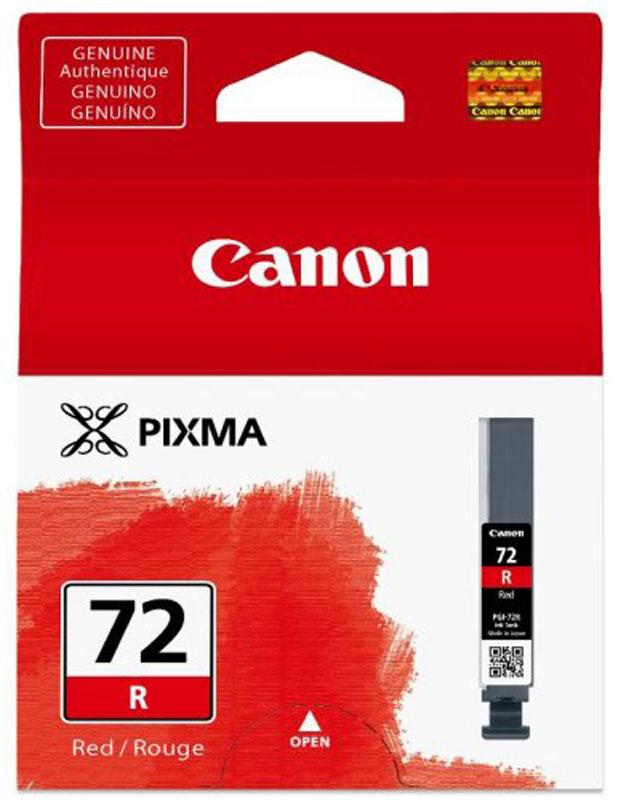Canon PGI-72R, Red картридж для Pro-106410B001Canon PGI-72R - картридж для Pro-10. Оригинальные чернила Canon гарантируют максимальное качество, долговечность отпечатков и надежность работы принтера. Благодаря уникальной технологии FINE печатающей головки Canon любой принтер PIXMA способен обеспечить невероятное качество и скорость печати документов и изображений.