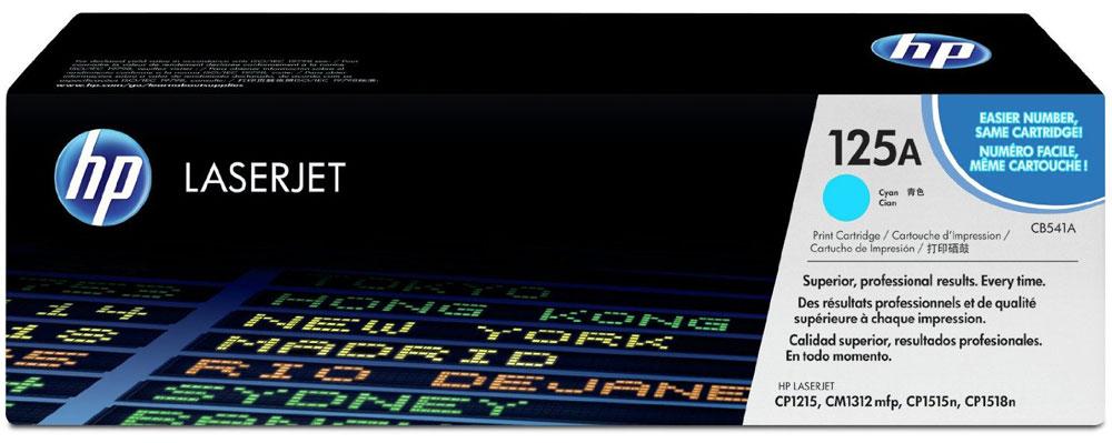 HP CB541A, Cyan тонер-картридж для Color LaserJet CP1215/1515/1518/CM1312CB541AИспользование расходных материалов HP 125 LaserJet повысит привлекательность вашего бизнеса. Тонер HP ColorSphere обеспечивает профессиональное качество печати — насыщенные цвета, четкость текста и реалистичность фотографий. Поддерживайте высокую производительность с неизменно качественными, надежными оригинальными расходными материалами HP.Оцените насыщенные цвета и четкость графических изображений. Не ограничивайтесь текстом — создавайте фотореалистичные изображения. Разборчивый текст и четкость деталей станут лучшей рекламой. Тонер нового поколения HP ColorSphere позволяет печатать рекламные материалы высокого разрешения для вашей компании.Интеллектуальные технологии в оригинальных лазерных картриджах HP позволяют оптимизировать качество печати и надежность. Равномерная цветопередача обеспечивается настройкой системы в соответствии с уникальными характеристиками тонера HP ColorSphere.