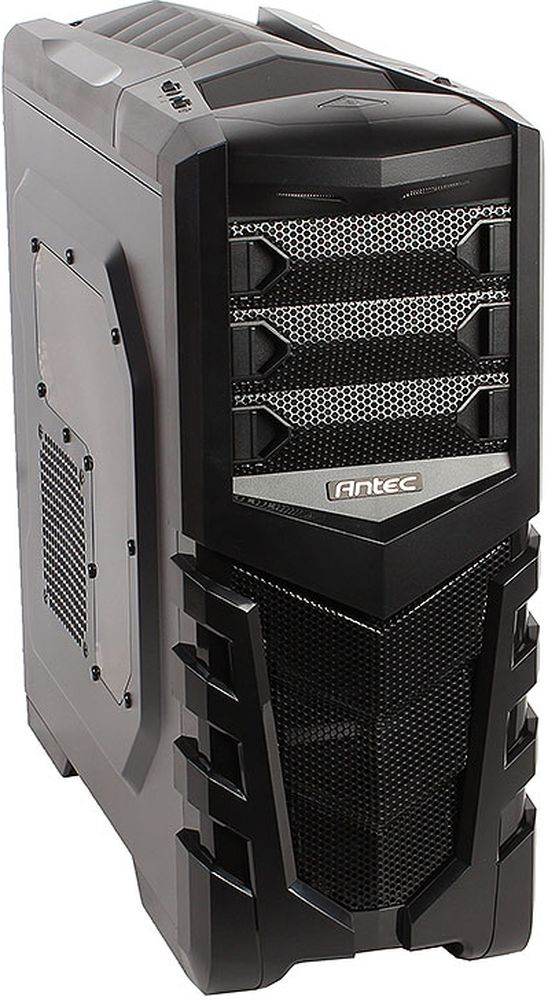 Antec GX505 Window Blue компьютерный корпус0-761345-15505-2Antec GX505 Window - практичный стальной черный корпус формата Midi-Tower для сборки производительных игровых систем.Корпус способен вместить материнские платы до типоразмера ATX, производительные видеокарты длиной до 380 мм, и процессорные системы охлаждения высотой до 158 мм. В данной модели имеются крепления для четырех 3.5-дюймовых и одного 2.5-дюймового накопителей.Корпус располагает местами для установки шести 120-мм вентиляторов. Он также оснащен противопылевым фильтром и двумя портами USB 3.0 на верхней панели.