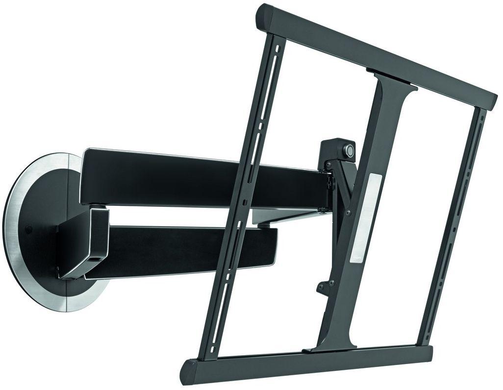 Vogels Next 7345, Black кронштейн для ТВNEXT 7345 BVogels DesignMount (NEXT 7345) – шарнирный настенный кронштейн для телевизоров. Это уникальное крепление для телевизоров создано с учетом нашего 40-летнего опыта. Кронштейны для телевизоров DesignMount компании Vogels являются в своем роде переломным моментом в дизайне и привносят свежий взгляд на рынок креплений для телевизоров.Мы уделили особое внимание каждой детали и постарались создать такое настенное крепление, которое имело бы роскошный внешний вид и было бы удобным в использовании. Достаточно одного взгляда, и вы всегда узнаете его. Достаточно одного прикосновения, и вы оцените, с какой легкостью он перемещается. Кронштейны для телевизоров DesignMount компании Vogels отличаются длительным сроком службы. Смелый дизайн кронштейна с опрятным видом и изящными линиями создает уникальные условия для размещения телевизора. Кронштейн DesignMount NEXT 7345 без усилий сдвигается к стене, оставляя минимальное пространство между креплением и стеной. Его можно без особых усилий выдвинуть вперед, наклонить на 20 градусов и повернуть вправо-влево на 120 градусов. Прочная рама кронштейна предназначена для телевизоров от 40 до 65 дюймов (102–165 см) и весом до 30 кг. При создании этого кронштейна мы использовали все лучшие наработки компании Vogel's. К ним относится изобретенная нами несколько лет назад система защиты экрана Screen Protection System®, которая защищает телевизор от удара о стену. Поражает та легкость, с которой данный кронштейн двигается. Его можно повернуть одним пальцем. Мы называем это интеллектуальным механизмом перемещения Smart Movement Mechanism ®. Придайте комнате опрятный вид, убрав кабели и провода из поля зрения с помощью запатентованной компанией Vogel's системы прокладки кабелей Cable Inlay System®. Мы взяли все лучшее от наших успешных разработок и создали концептуально новое изделие, которое имеет более роскошный внешний вид, чем все прочие кронштейны, имеющиеся на рынке. Мы надеемся, что вы по