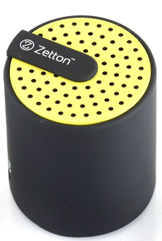 Zetton Cylinder, Black Yellow портативная Bluetooth-колонка (ZTLSBSCYLBY)